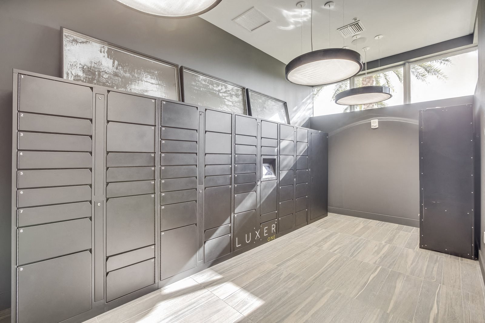 24 Hour Package Lockers
