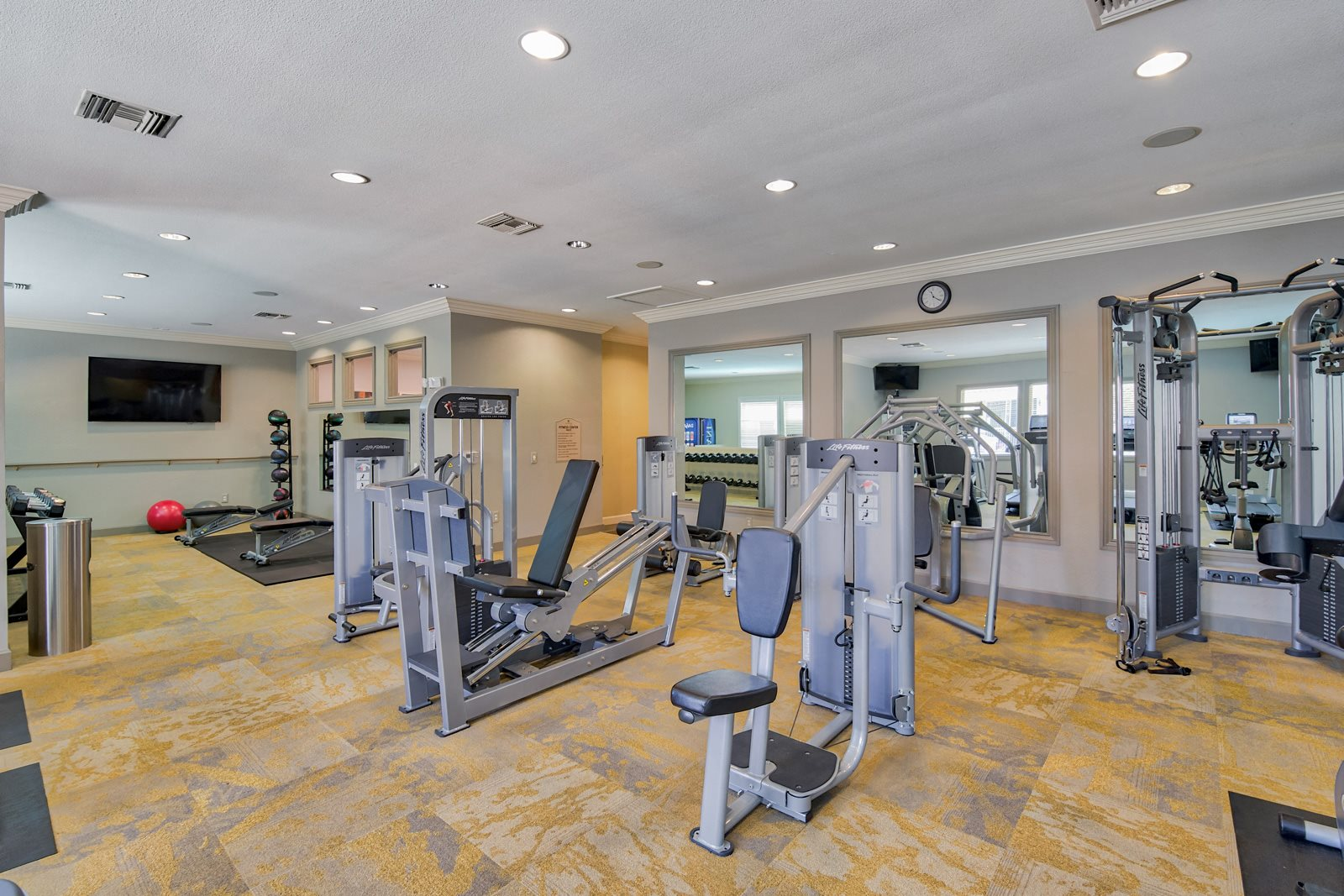 State-of-the-Art Fitness Center with Weight Machines at Windsor at Aviara, Carlsbad, 92011
