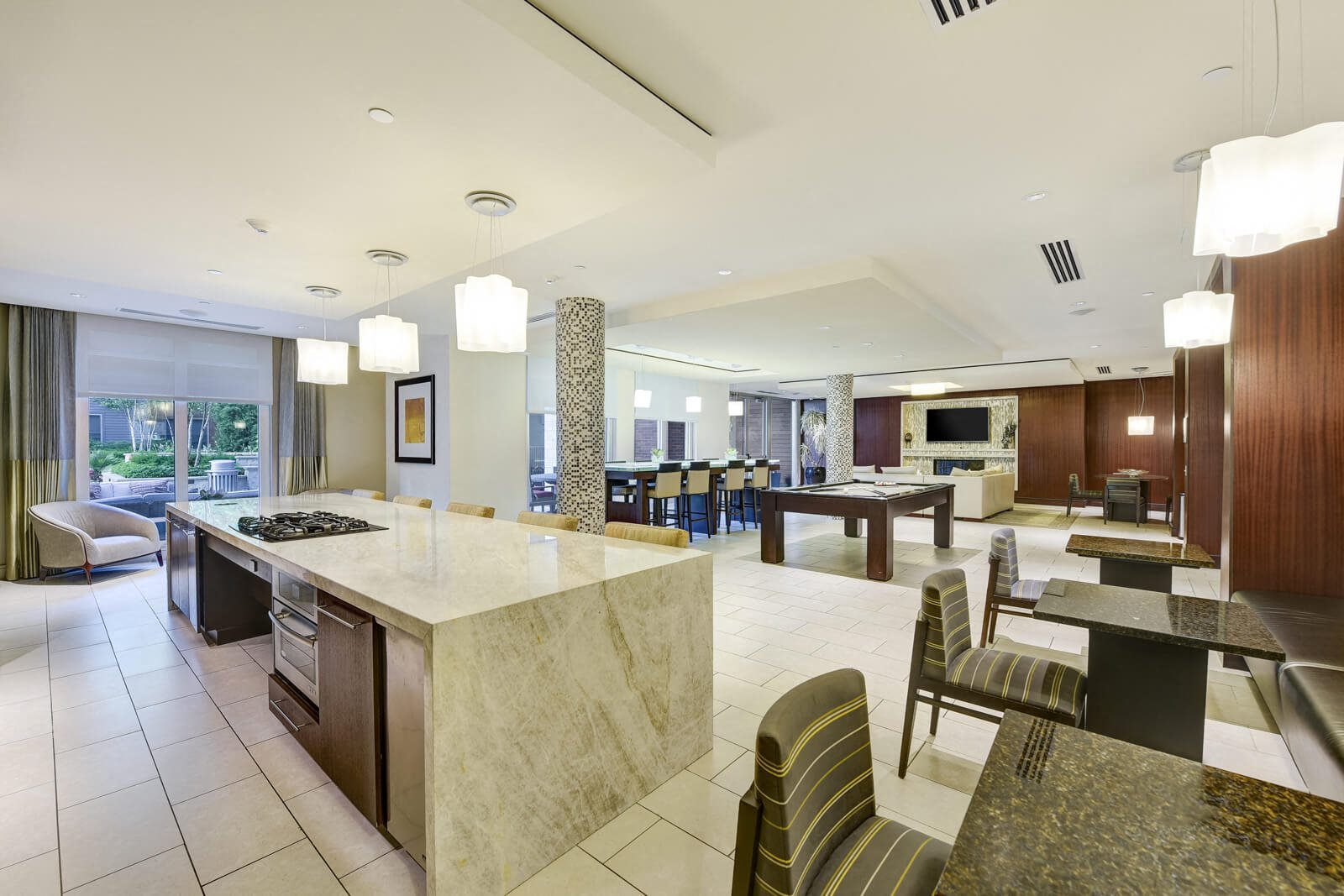 Gourmet Kitchen In Club Suite at Windsor at Cambridge Park, Cambridge, 02140