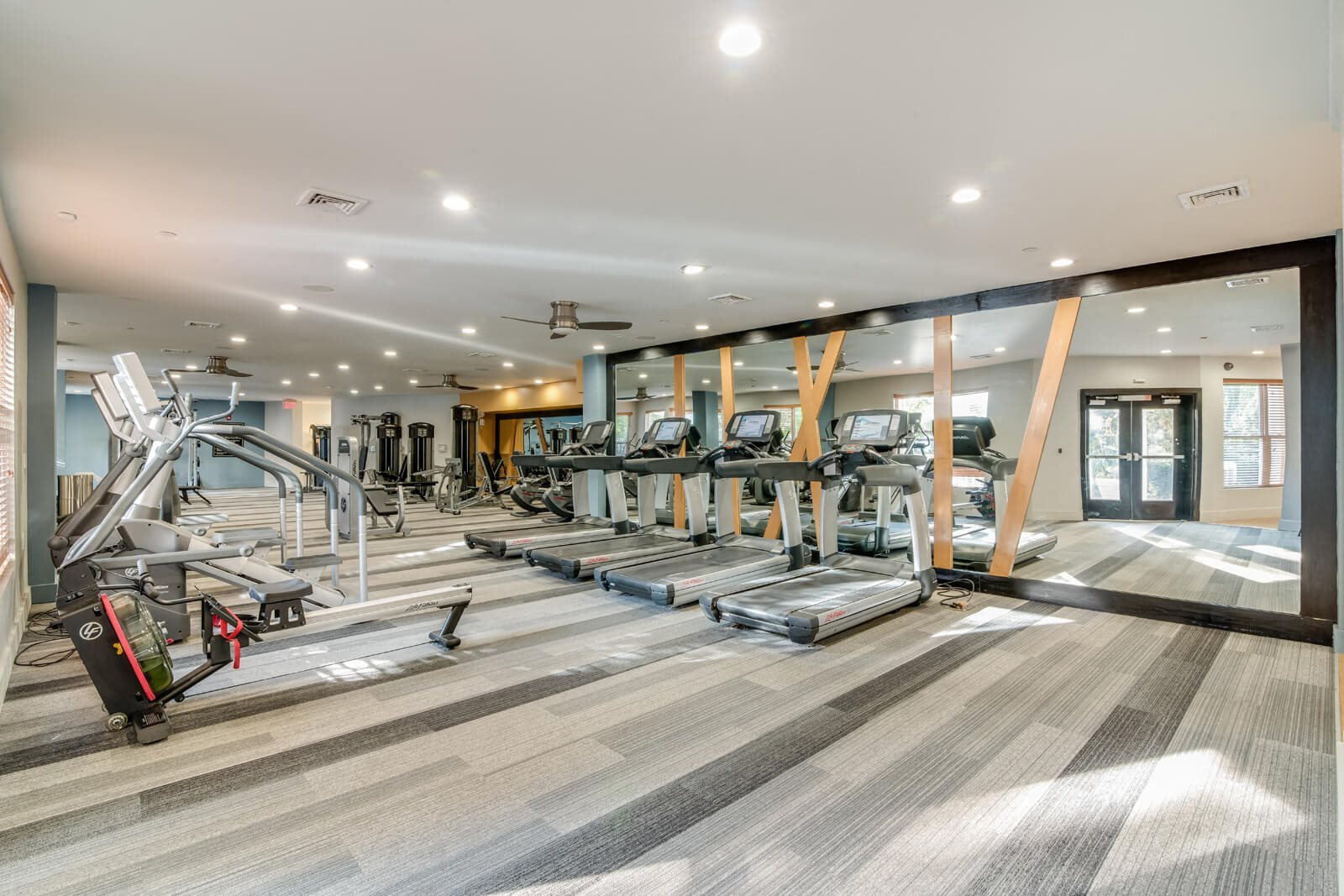 Fully-Equipped Fitness Center at Windsor at Contee Crossing, Maryland, 20707