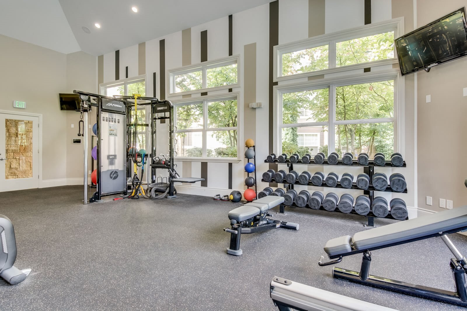 Work out with a View at The Estates at Cougar Mountain, Issaquah, Washington