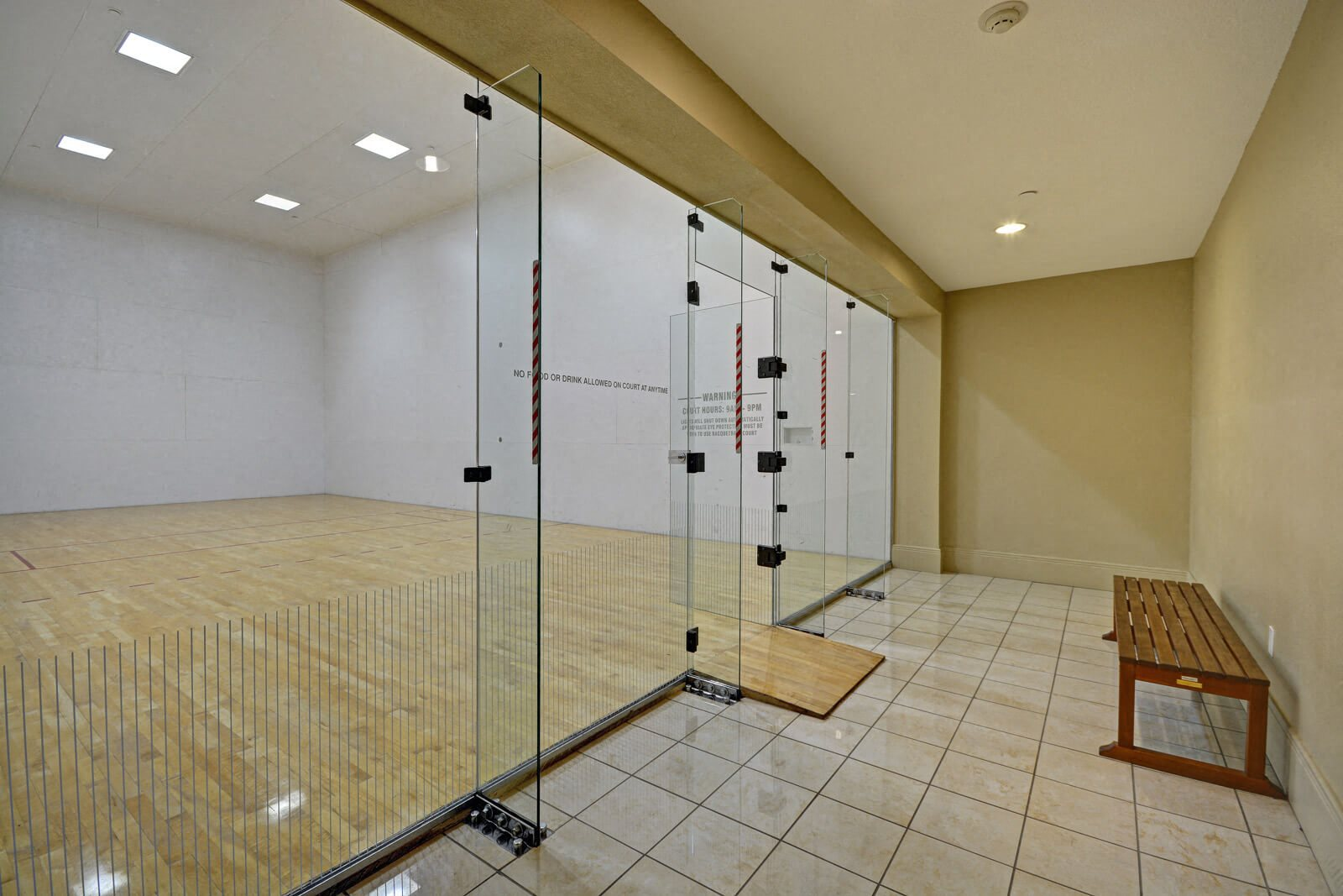 Racquetball Court at Windsor at Main Place, 1235 West Town and Country Road, Orange