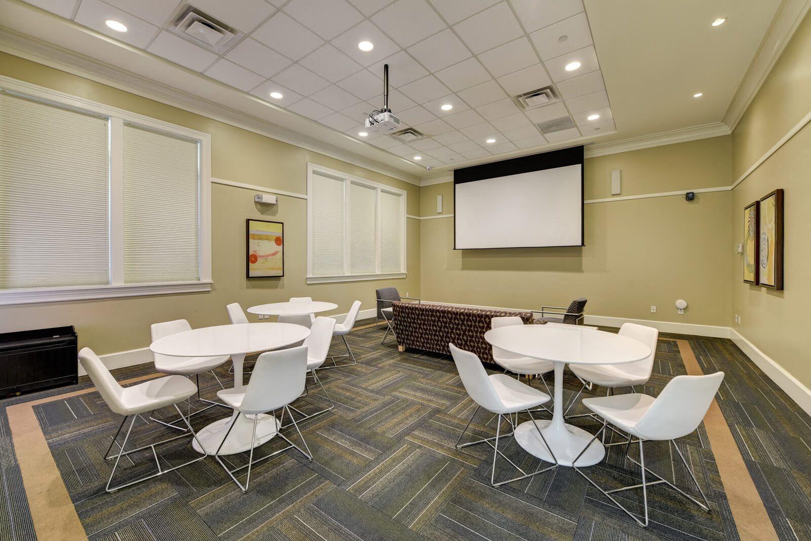 Media Room at Windsor at Oak Grove, 02176, MA