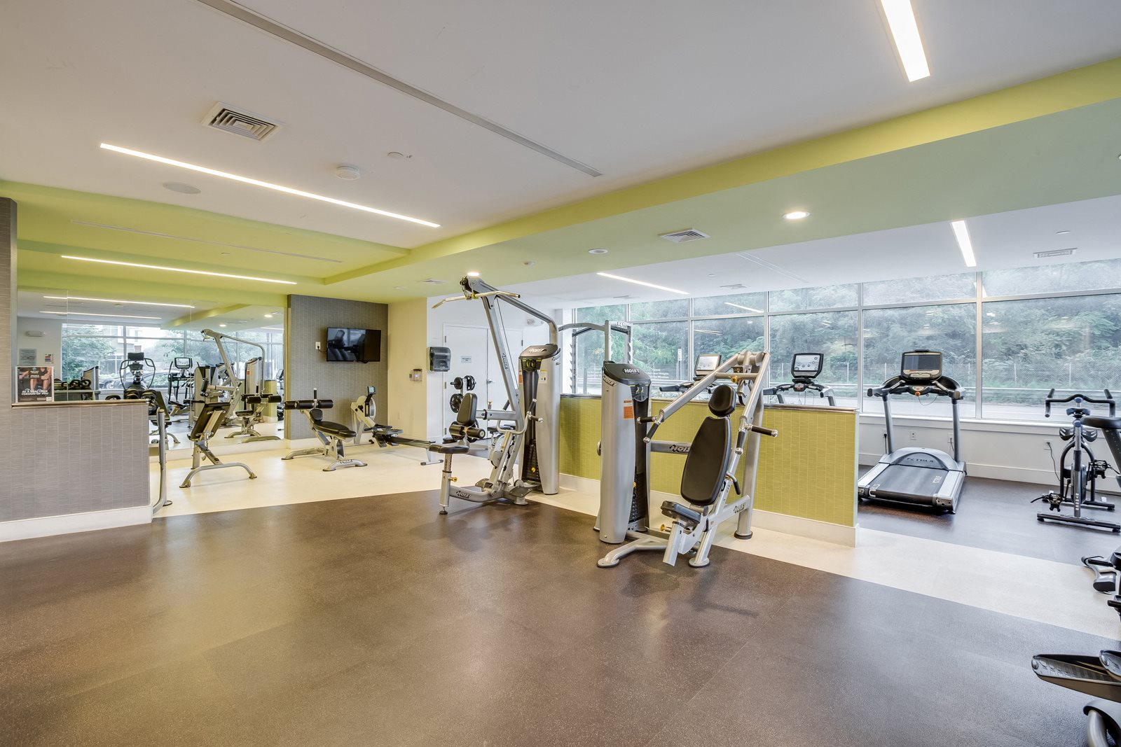 24-Hour, State-of-the-Art Fitness Center at Vox on Two, Cambridge, MA