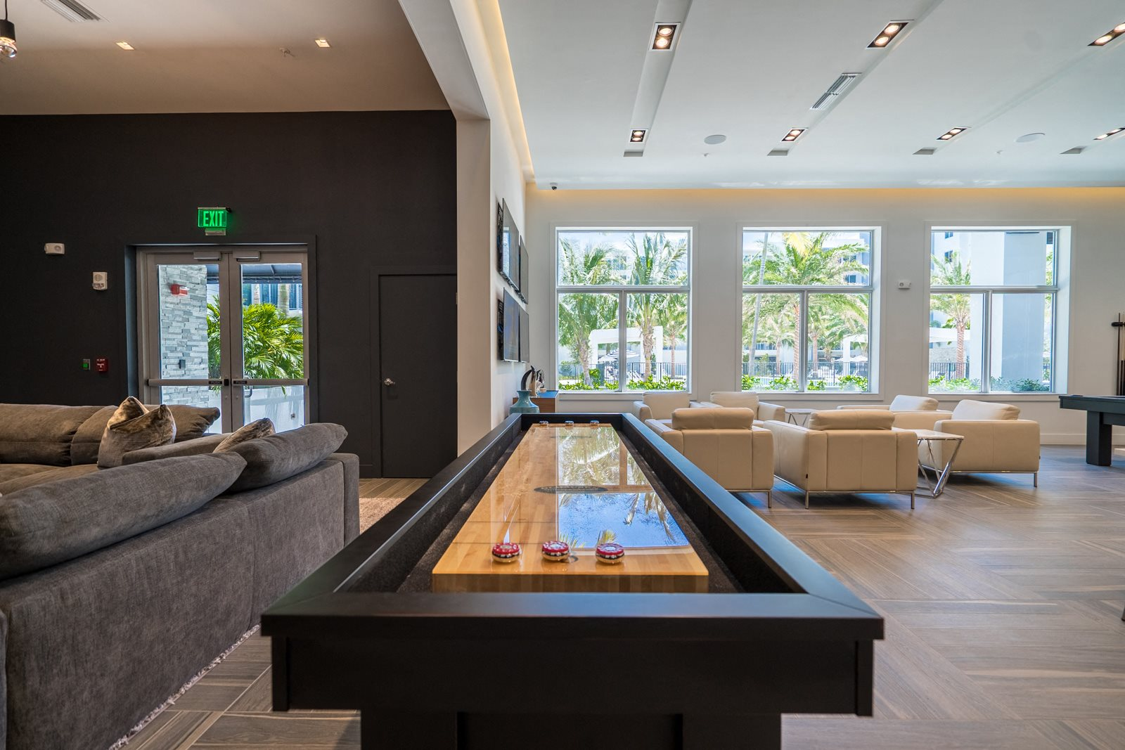 Shuffleboard at Allure by Windsor, 6750 Congress Avenue, Boca Raton