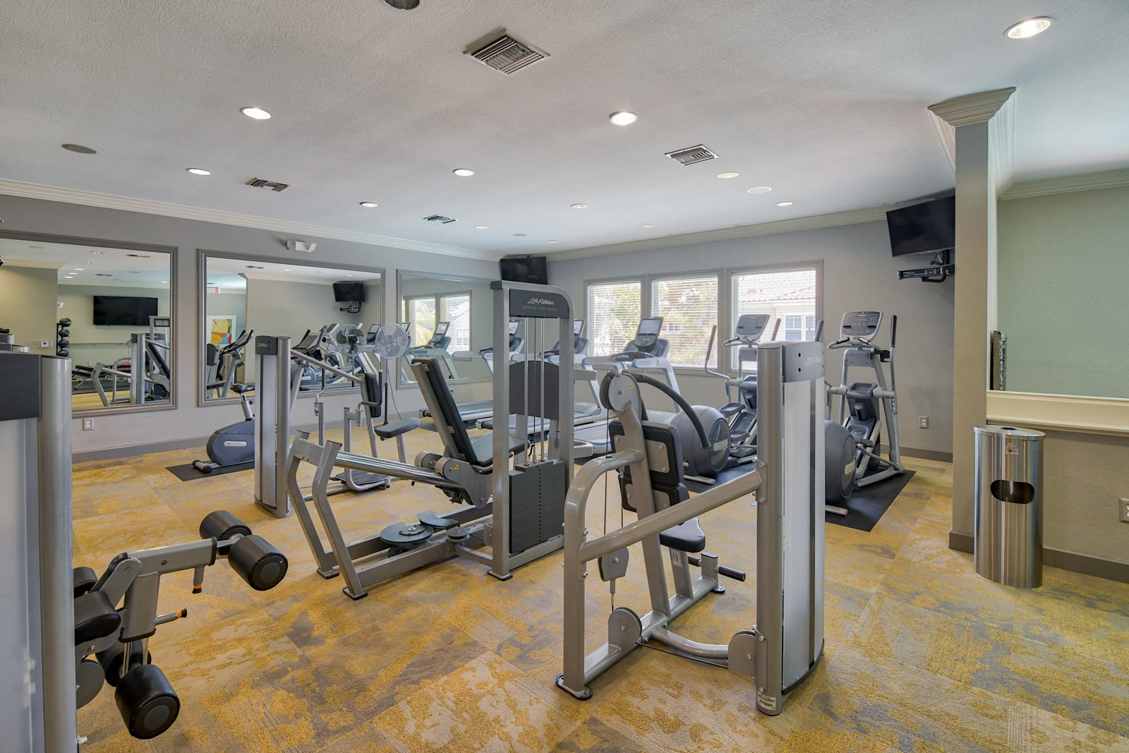 Cardio Equipment at Windsor at Aviara, California, 92011