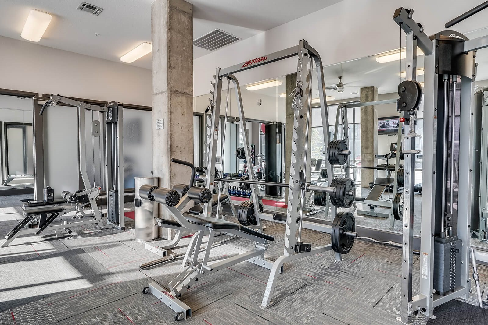 24-Hour, State-of-the-Art Fitness Center at Windsor at Broadway Station, Colorado, 80210