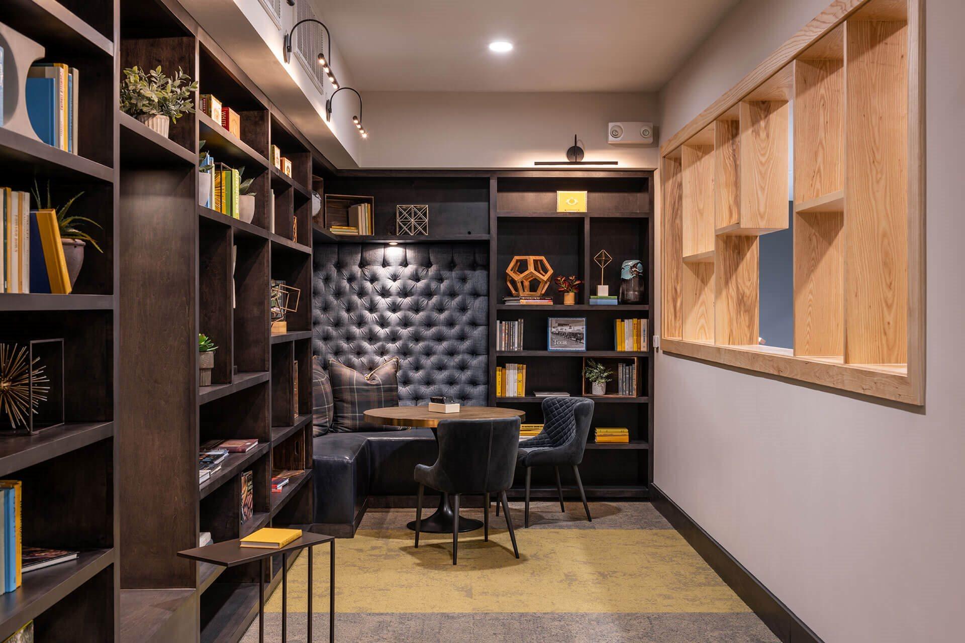Resident Library at Windsor Burnet, Austin, 78758