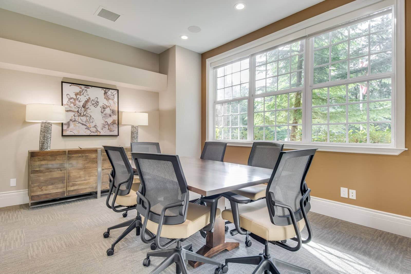 Resident Conference Room at The Estates at Cougar Mountain, Issaquah, 98027