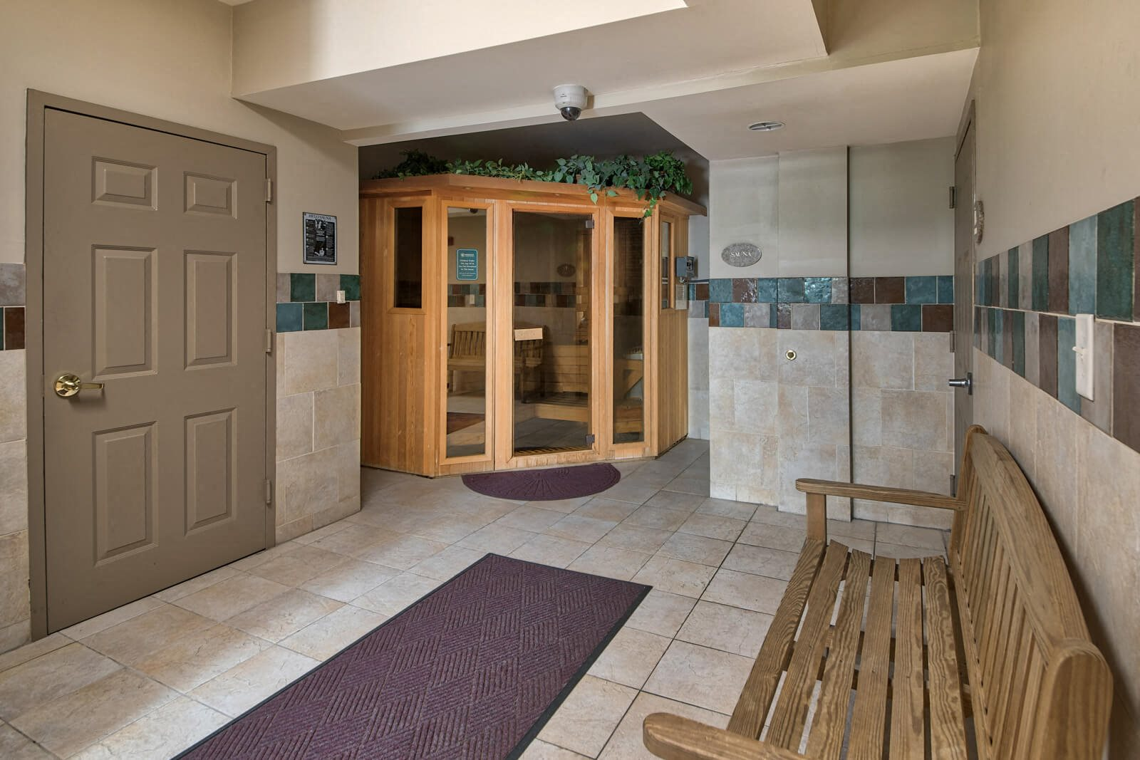 Relax in the Sauna at Windsor at Liberty House, 115 Morris Street, New Jersey