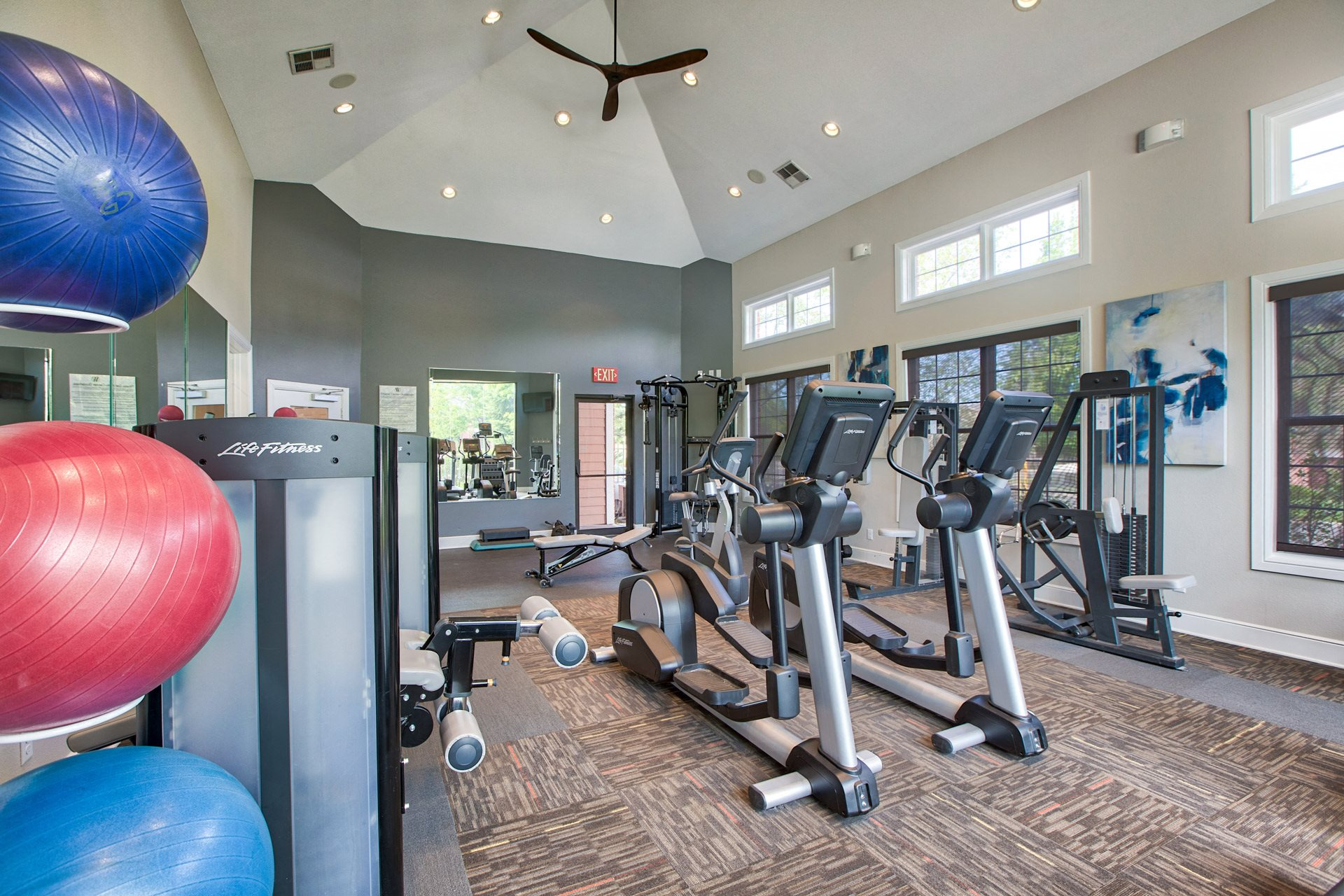State-of-the-Art Fitness Center at Windsor at Meadow Hills, 80014, CO