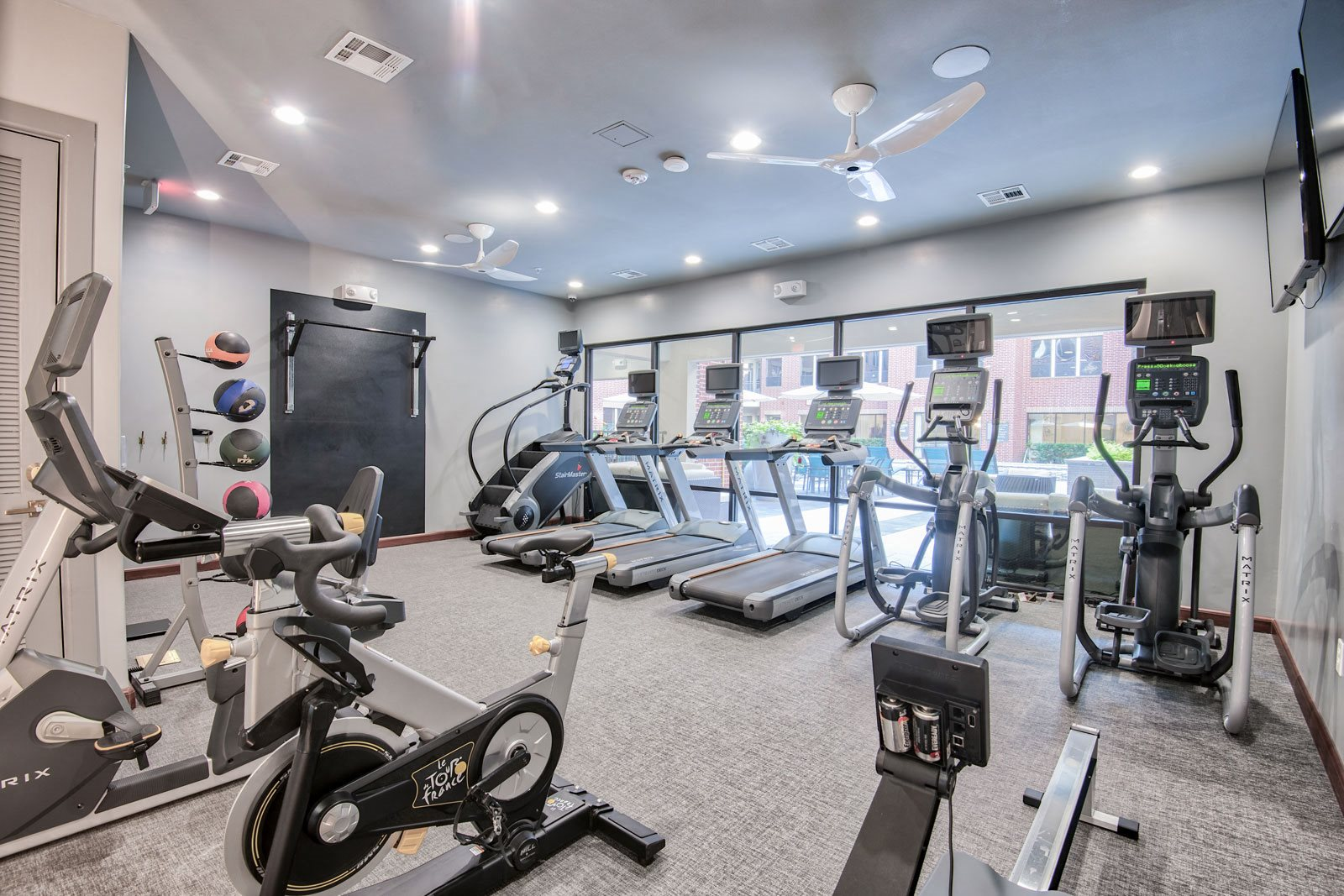 Cardio Equipment at Midtown Houston by Windsor, 77002, Houston