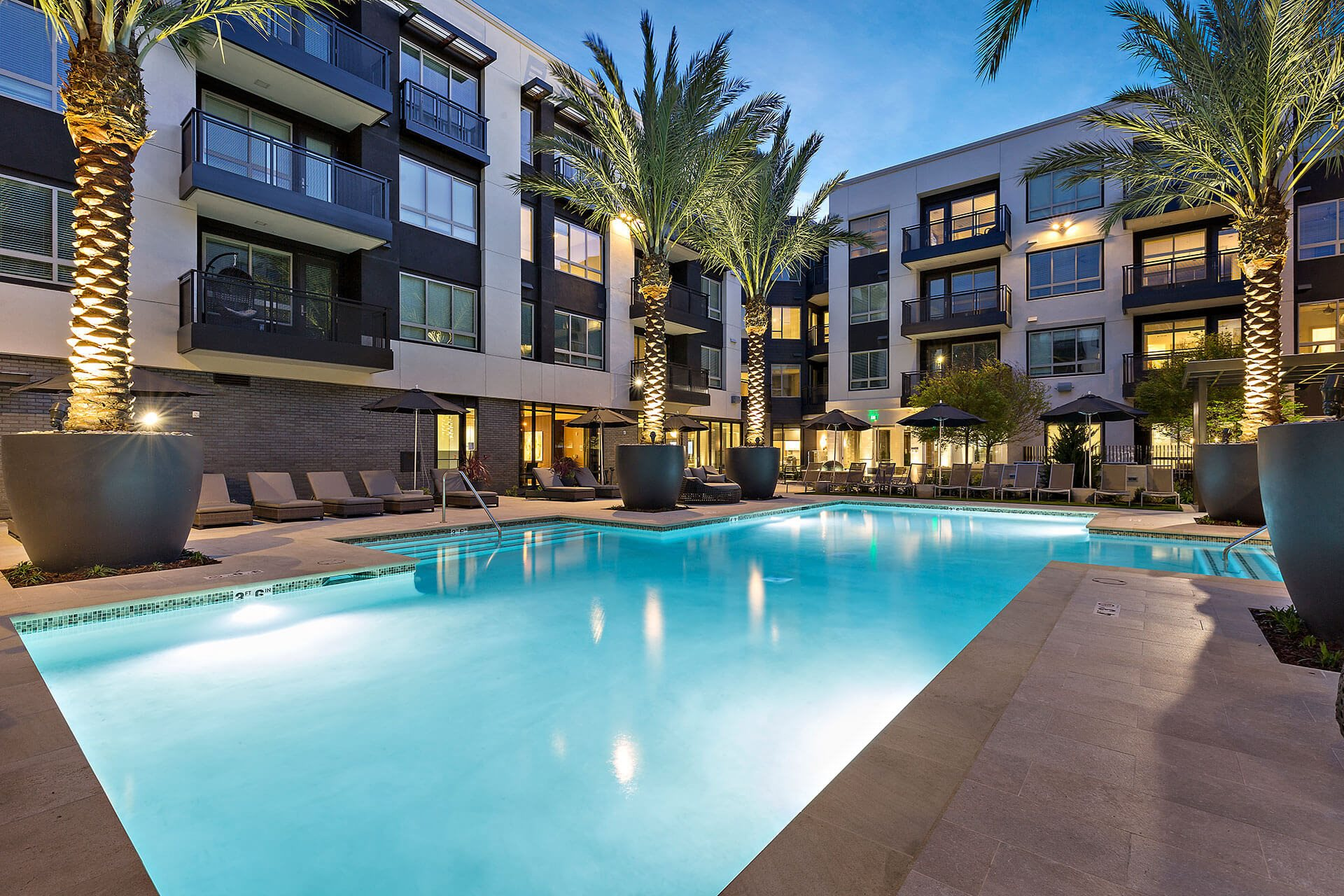 Resort pool, at Cannery Park by Windsor, 415 E Taylor St, San Jose
