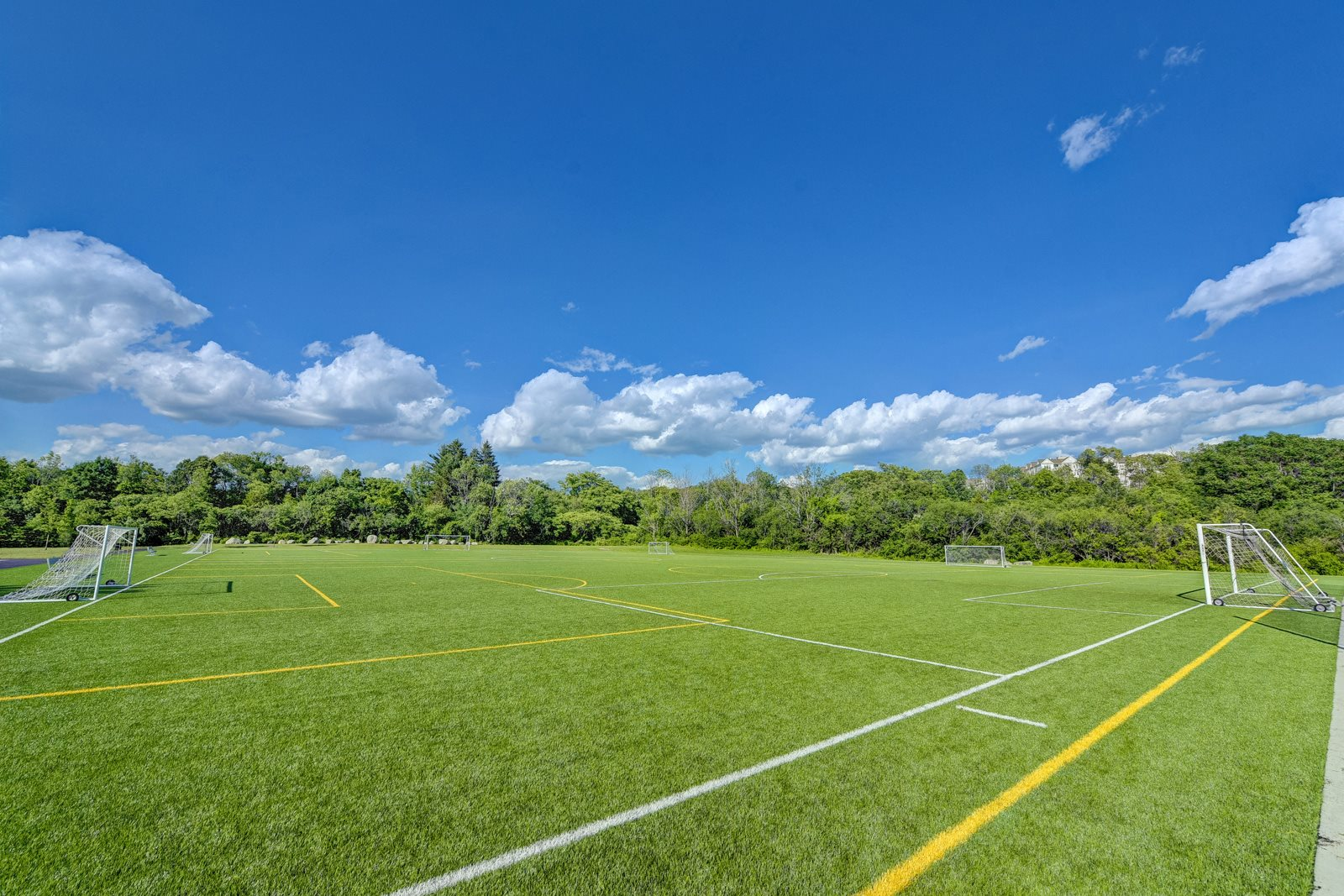 Sports Fields near Windsor Village at Waltham, Waltham, Massachusetts