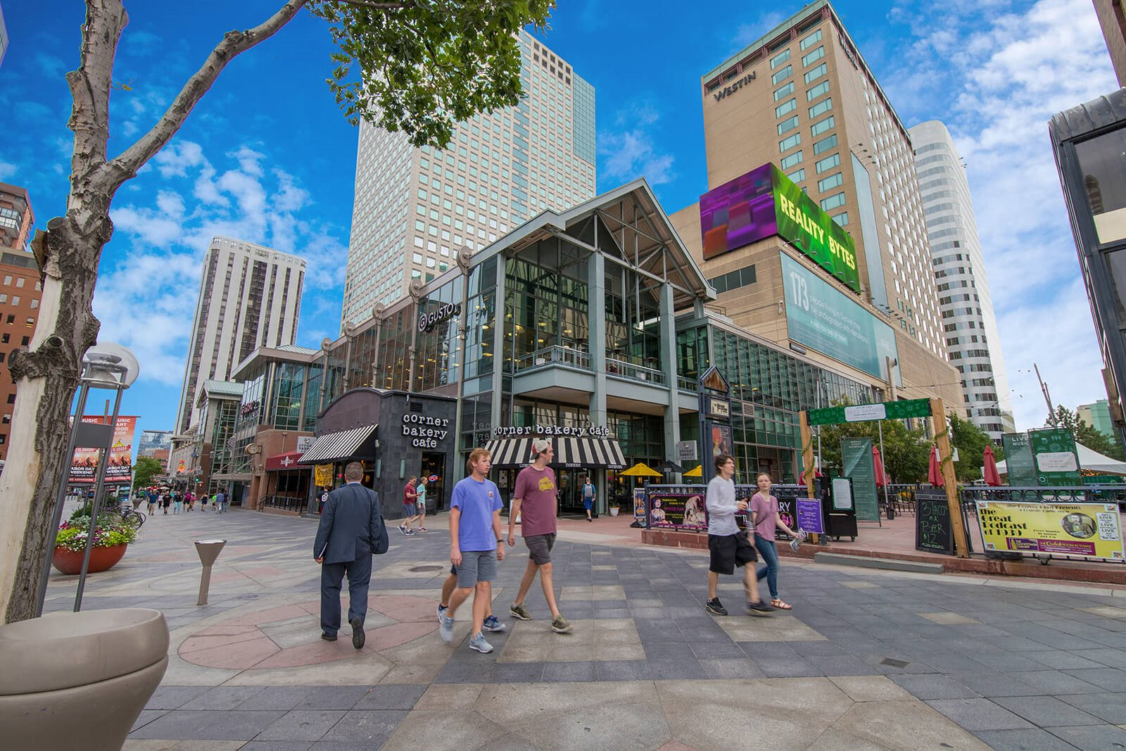 Shopping and Entertainment in Downtown Denver surrounds Windsor at Broadway Station, 80210, CO