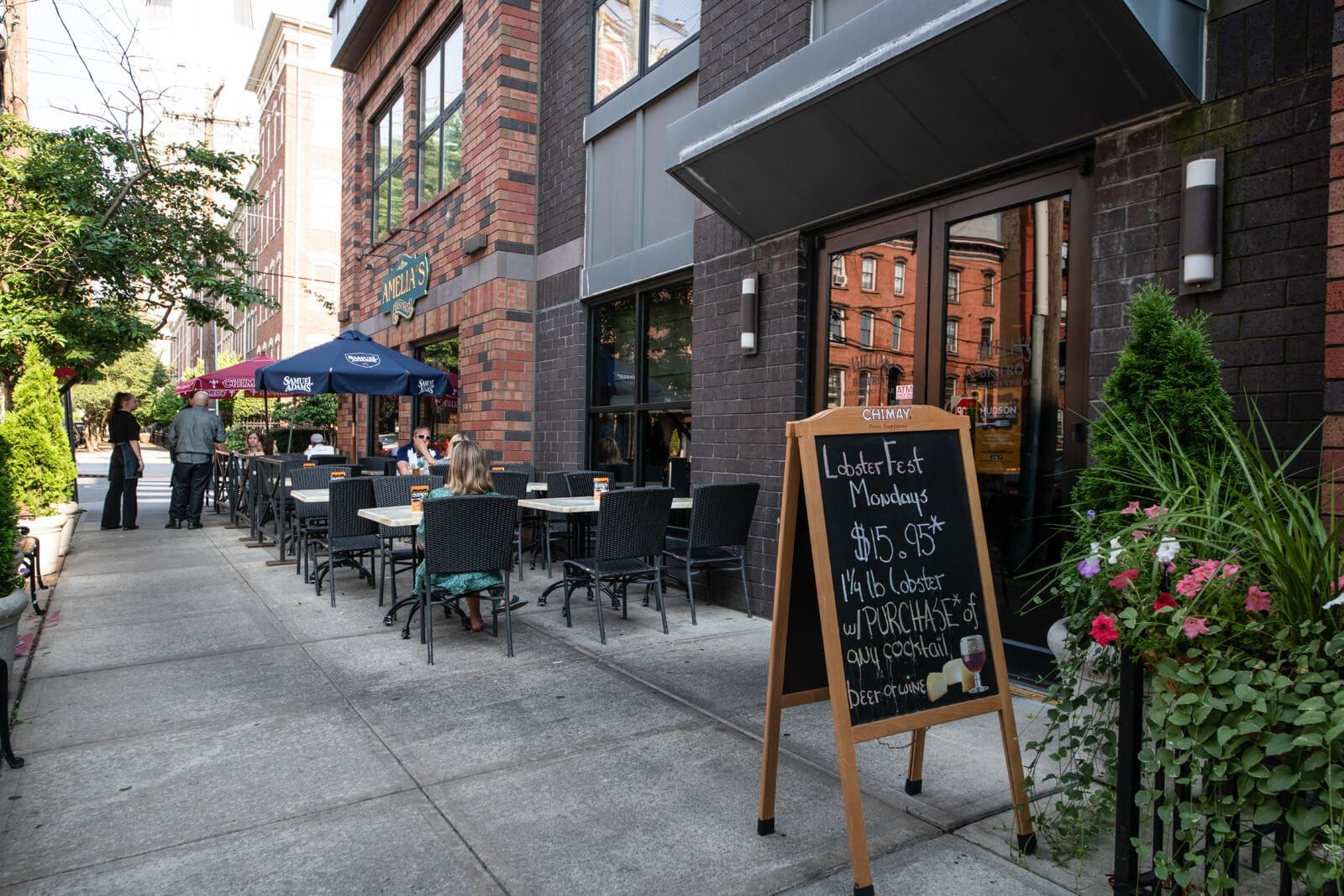 Close by Restaurants at Windsor at Liberty House, 115 Morris Street, Jersey City