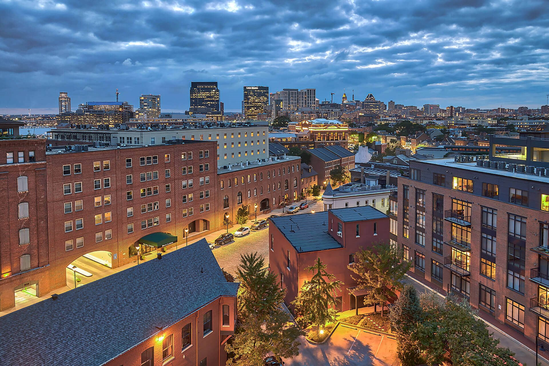 Beautiful view from apartments at Crescent at Fells Point by Windsor, Baltimore, MD