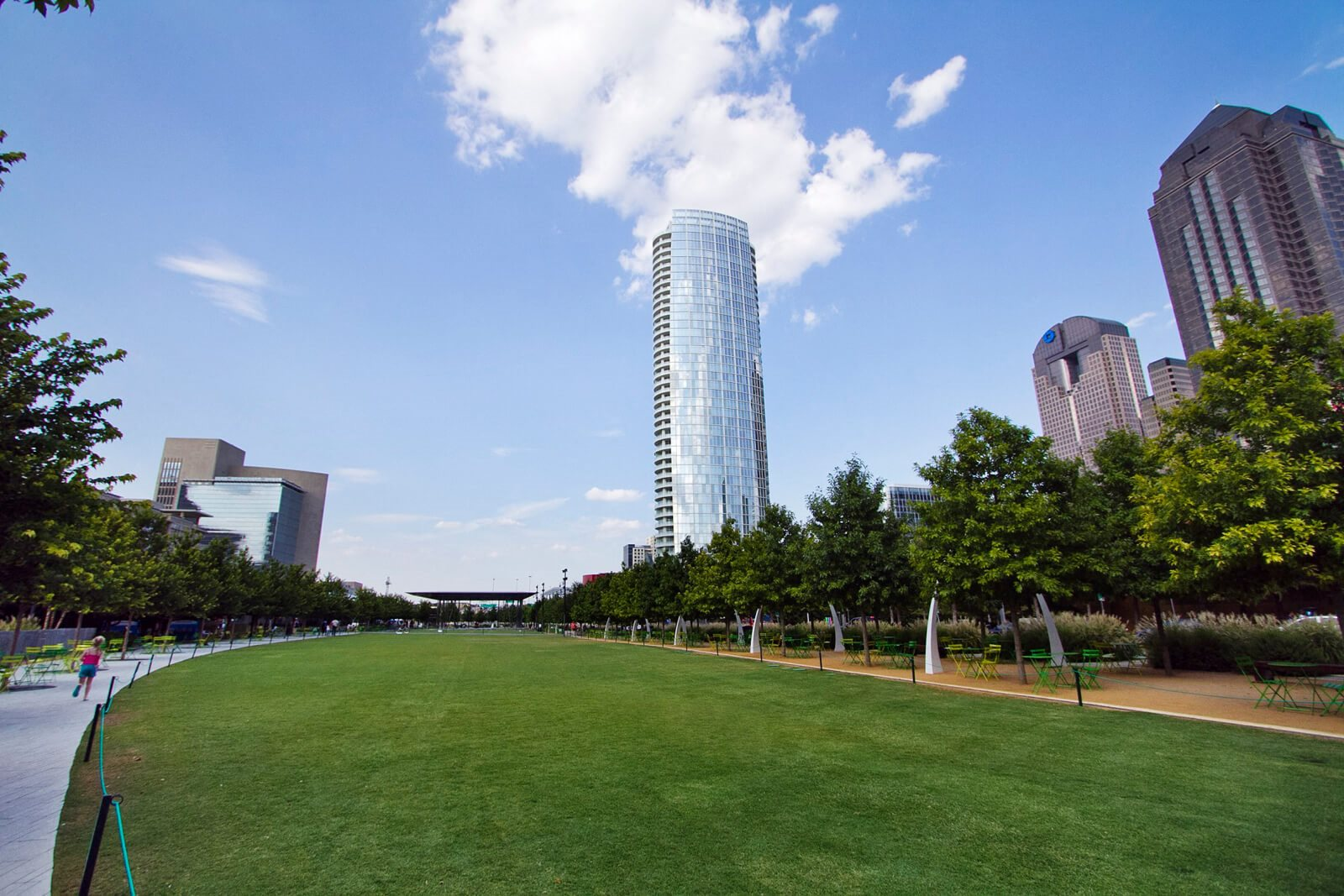 Green Space for Numerous Activities near The Monterey by Windsor, 3930 McKinney Avenue, TX