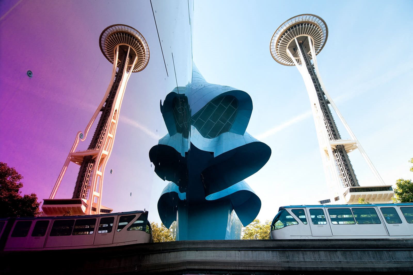 Space Needle and MoPOP are nearby at Cirrus, Washington, 98121
