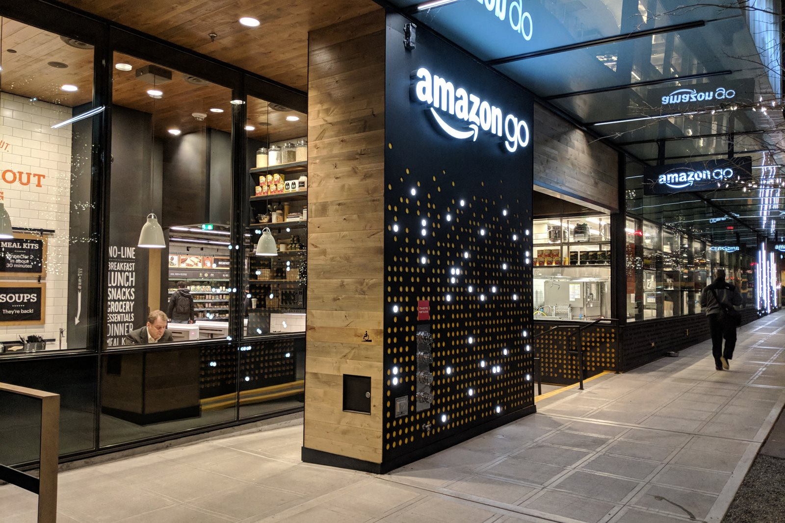 AmazonGo is minutes from the community at Stratus, 820 Lenora St., WA