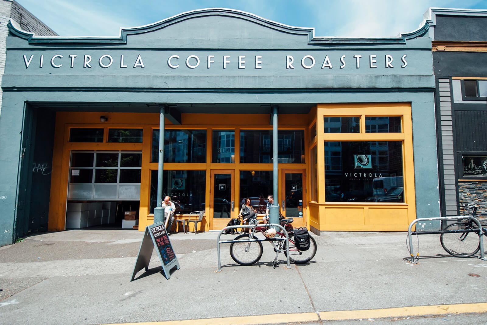 Enjoy Victrola Coffee Roaster's Coffee near Cirrus, 98121, WA