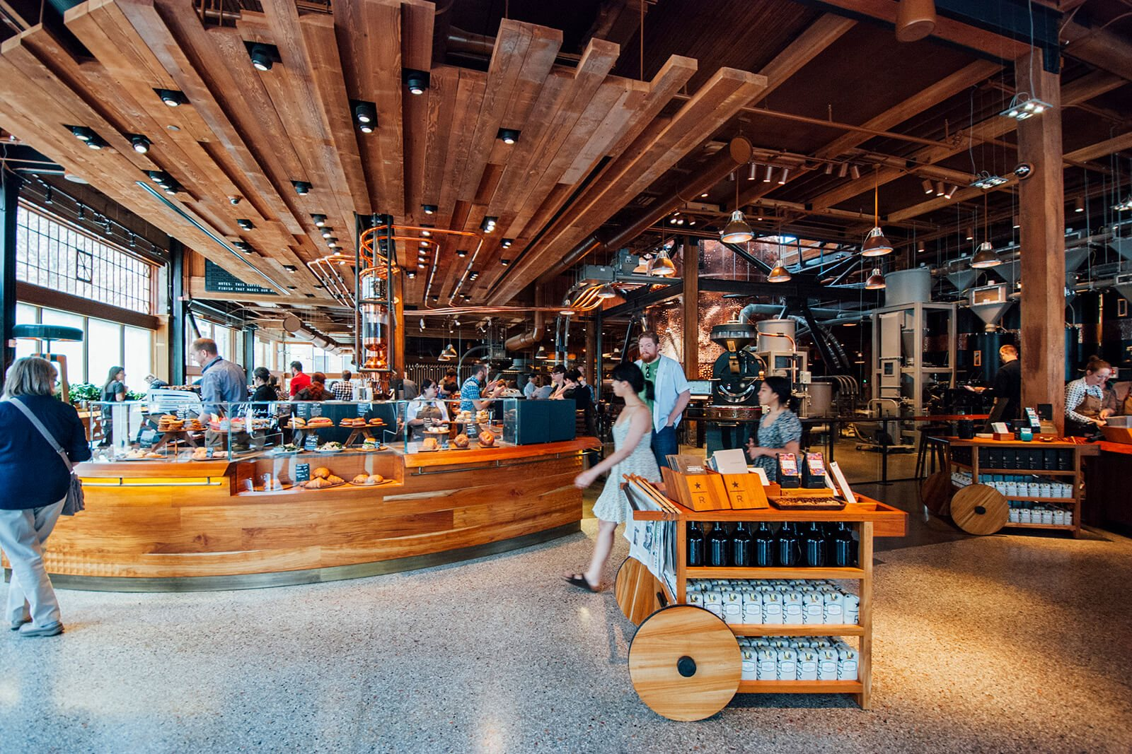 Starbucks Roastery on Capital Hill near Cirrus, 2030 8th Avenue, WA