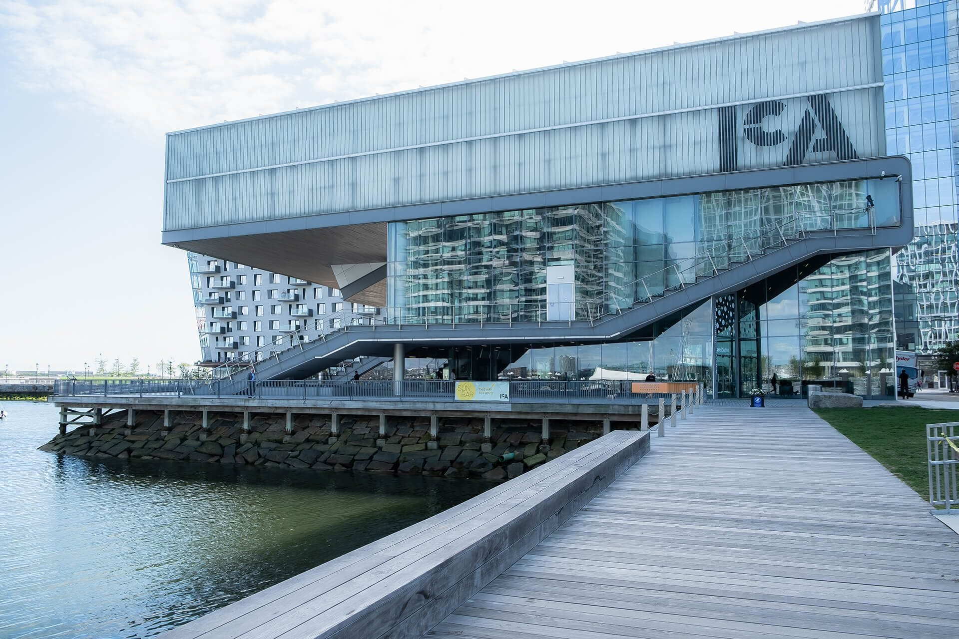 Ideal Visit The Institute of Contemporary Art Location near Ocean at Waterside Place by Windsor, 02210, MA