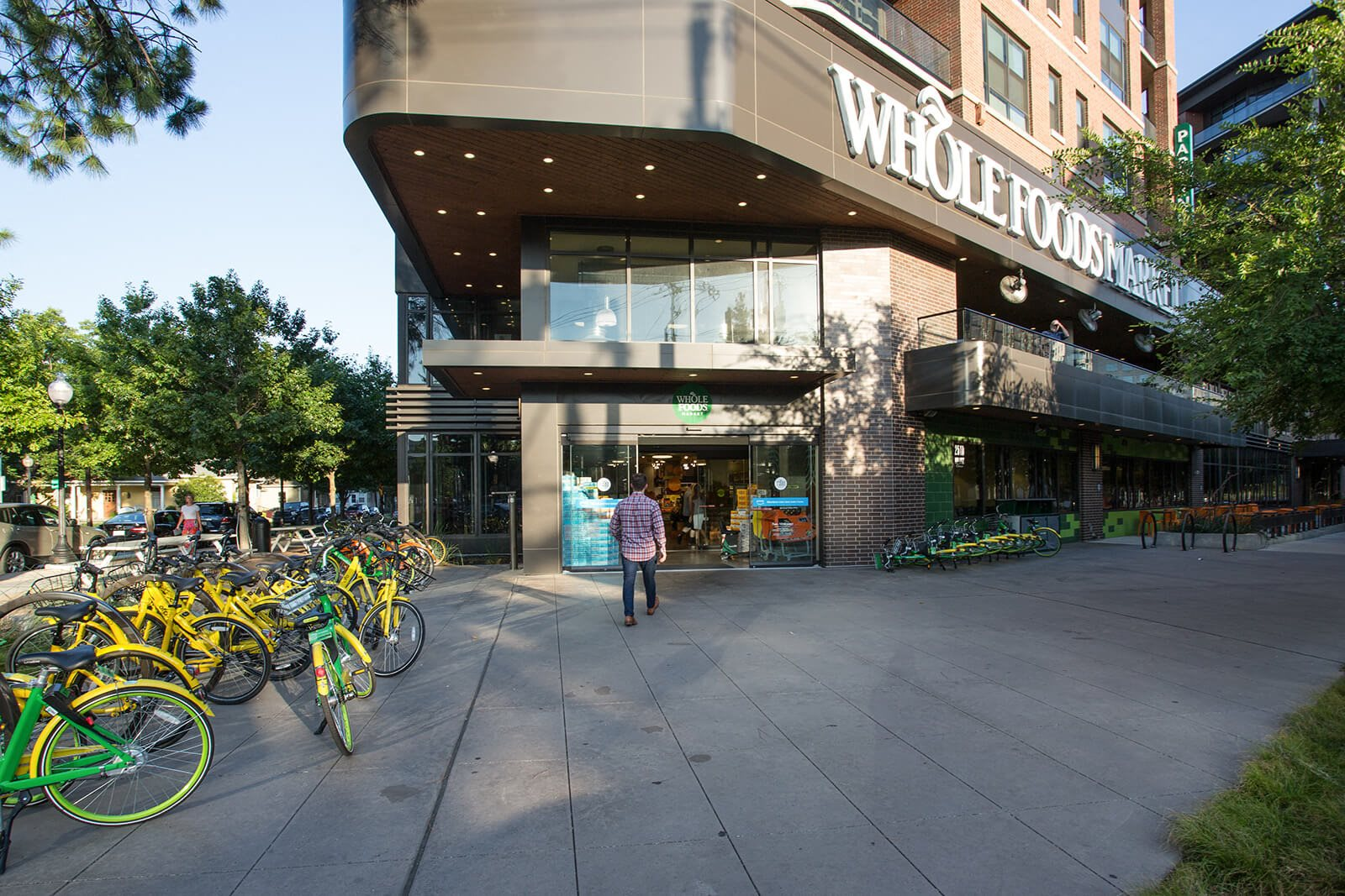 Whole Foods near Glass House by Windsor, Dallas, Texas