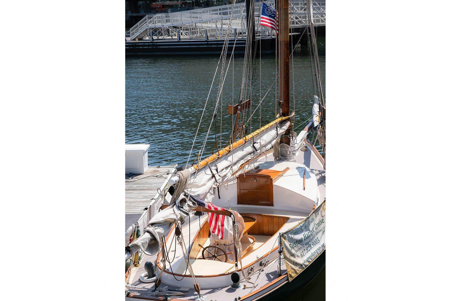 Sailing in Seaport area near Waterside Place by Windsor, 505 Congress St, Boston