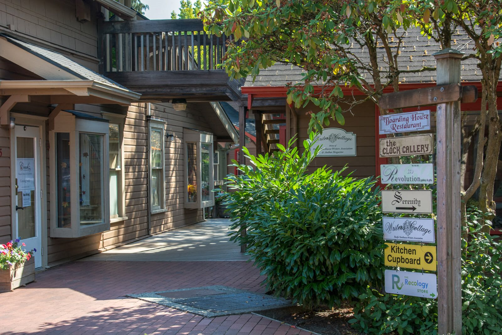 Historic Gilman Village near The Estates at Cougar Mountain, Issaquah, WA