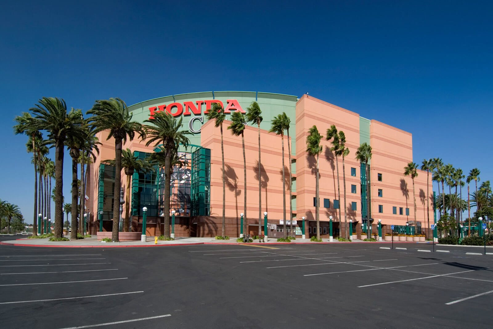 Enjoy a concert or Anaheim Ducks game at the Honda Center near Windsor at Main Place, Orange, CA