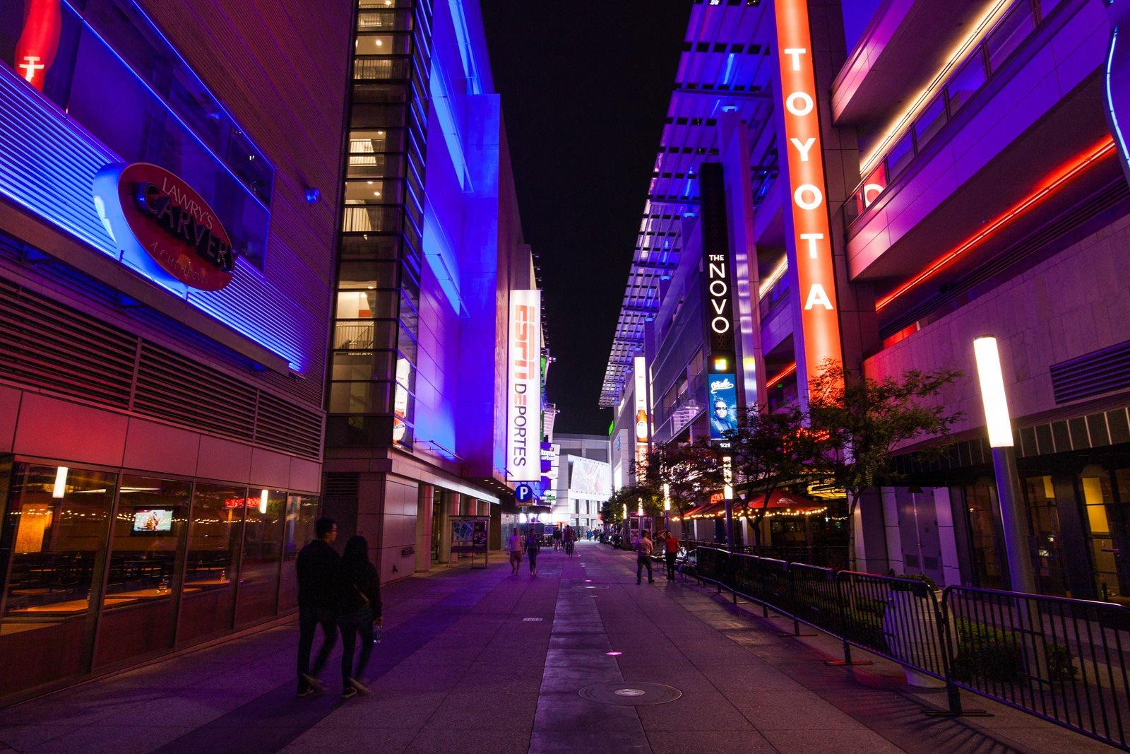 Enjoy an Evening at LA Live near Renaissance Tower, 90015, CA