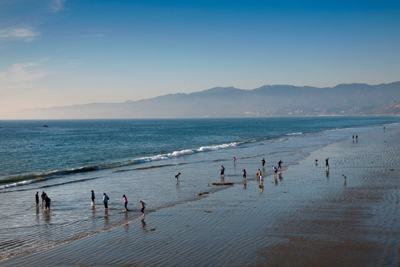 Enjoy a Day at the Beach near Sea Castle, 90401, CA