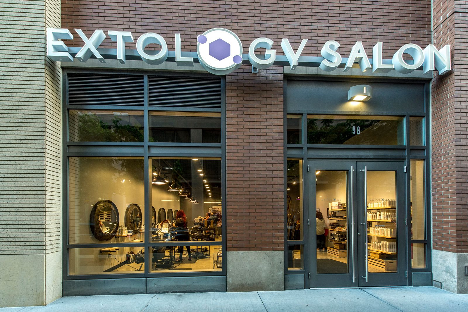 Extology Salon Below Apartments at The Victor by Windsor, 110 Beverly St, MA