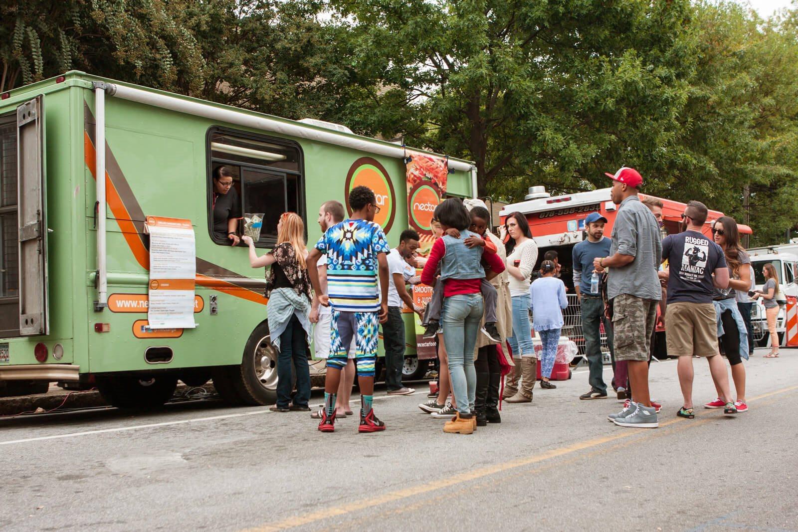 Food Trucks on the BeltLine near Windsor Old Fourth Ward, 608 Ralph McGill Blvd NE, Atlanta