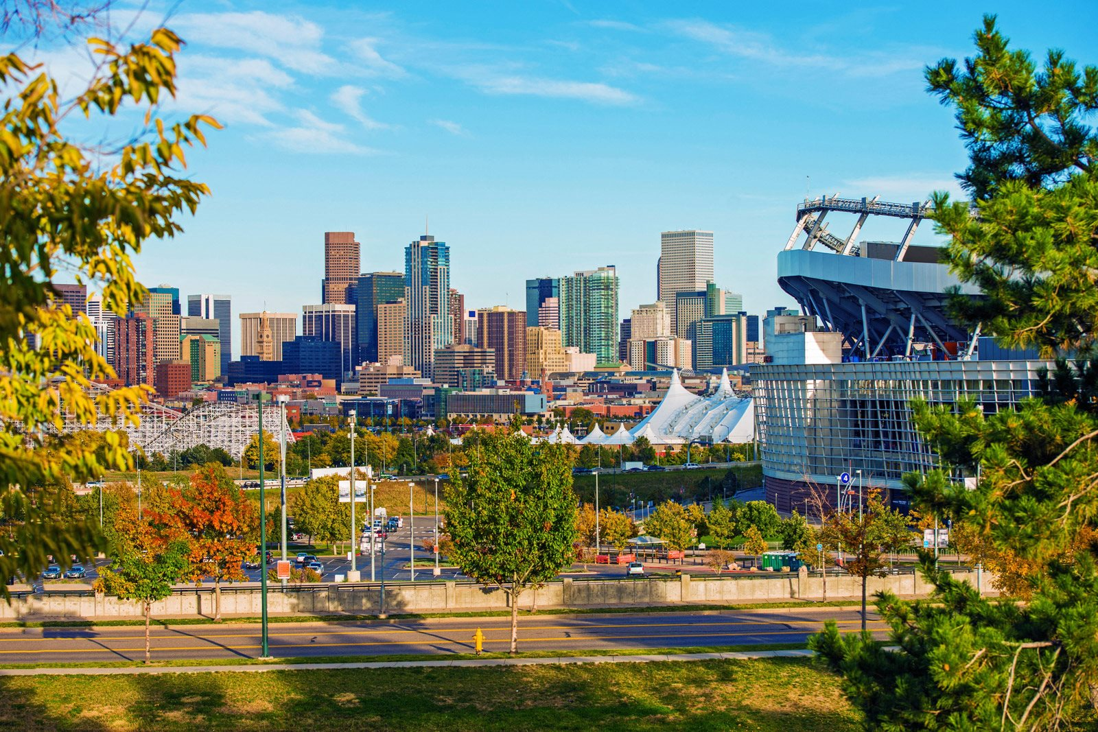 Sports Authority Field at Mile High Stadium nearby at The District,