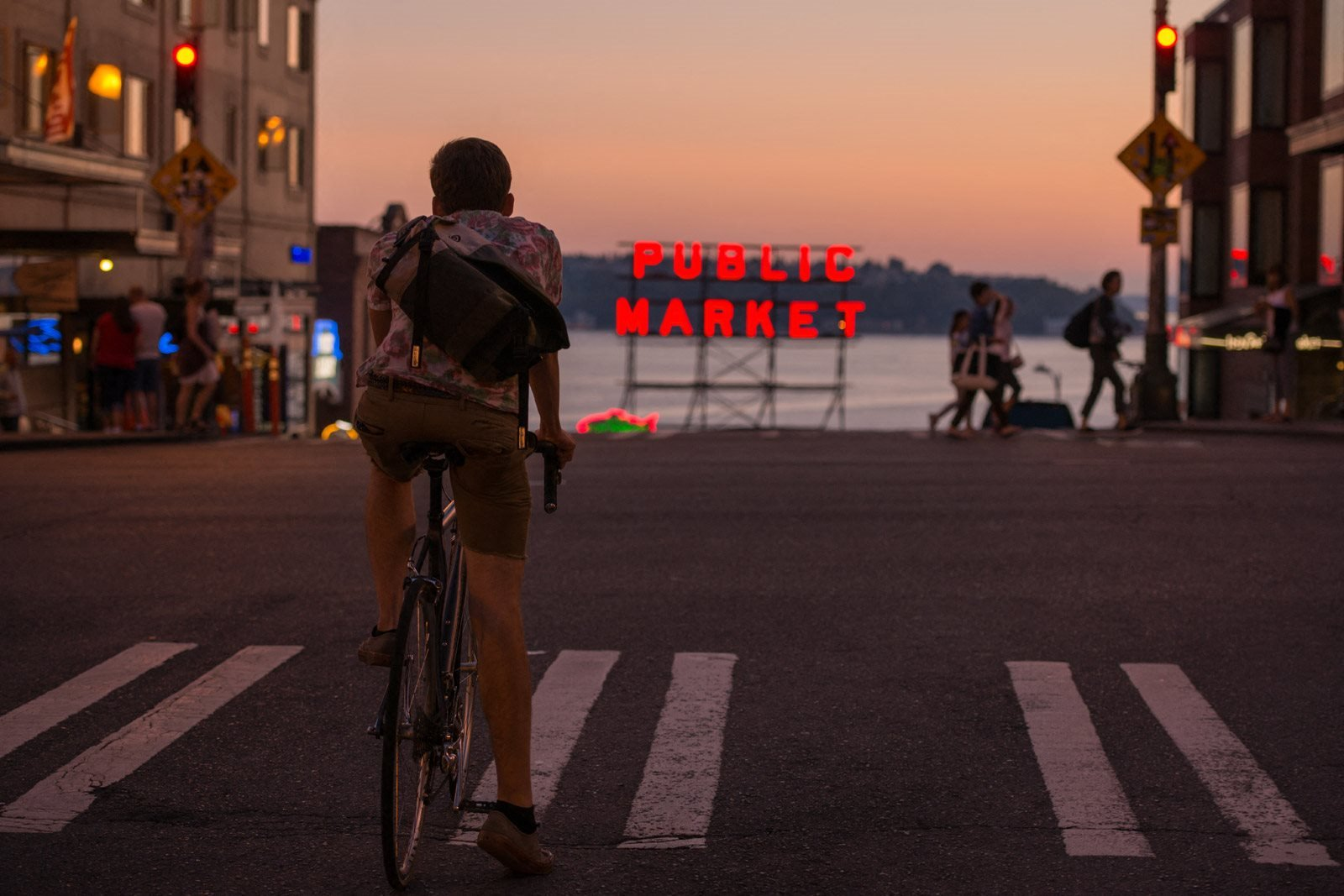Walk Or Bike To Pike Place Market from The Martin, Seattle, Washington