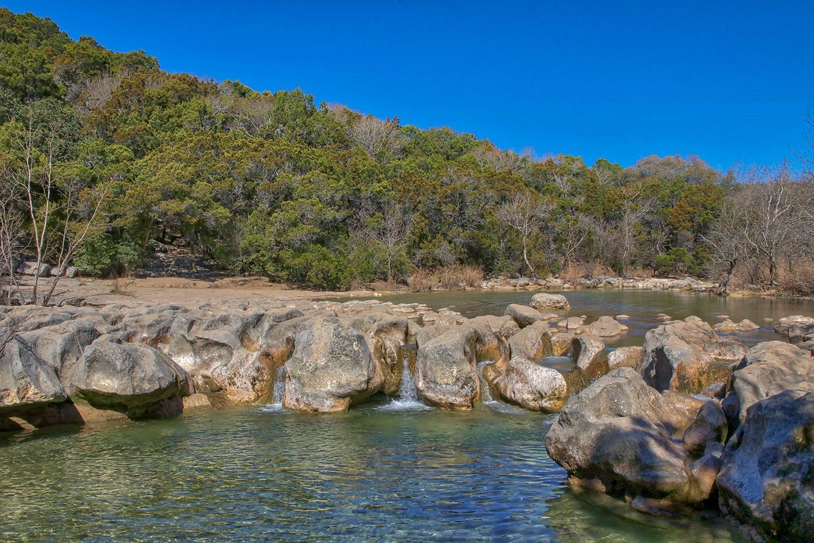 Hiking and River Access in Austin near Windsor Lantana Hills, Austin, 78735