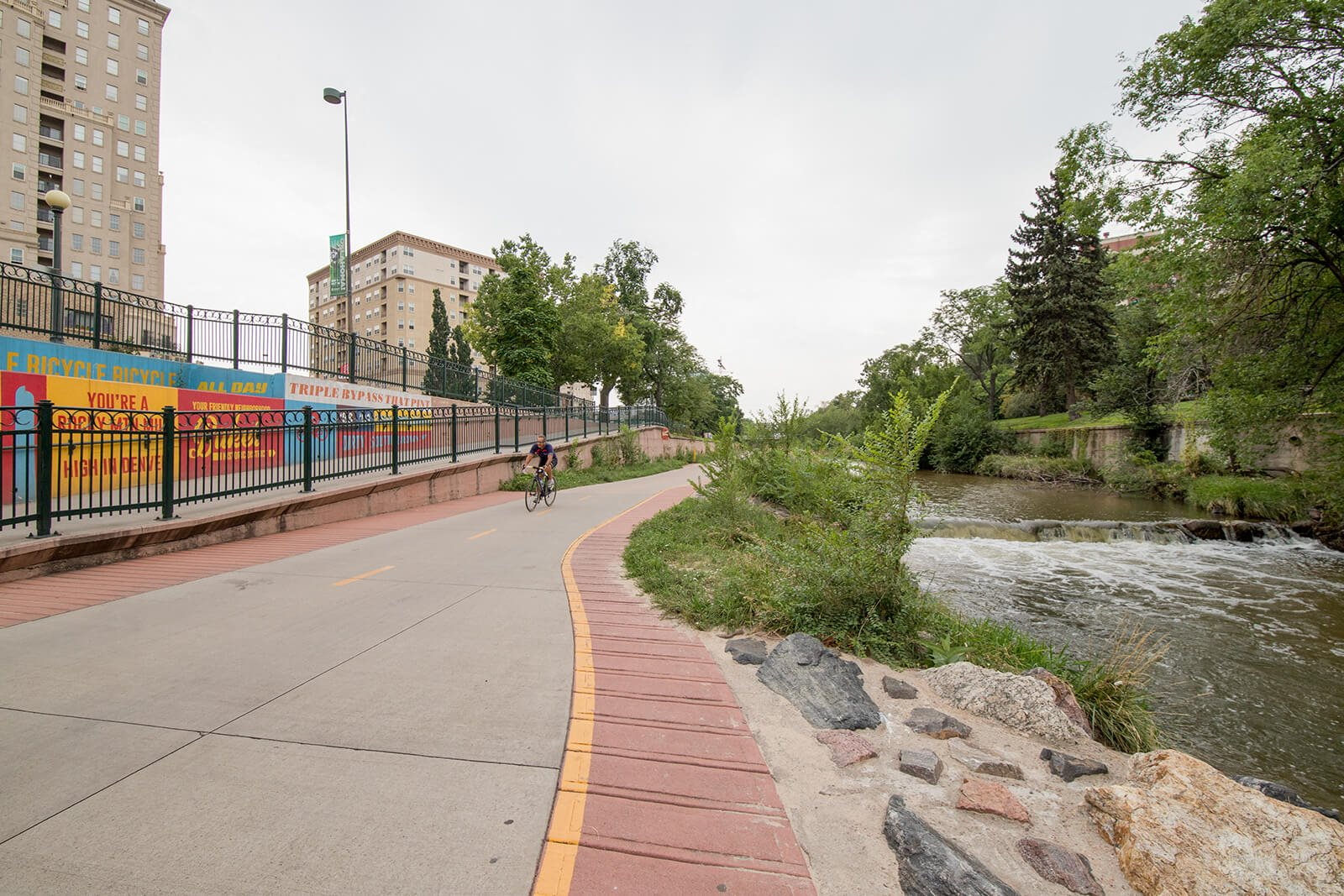 Easily Accessible Bike Trails From Community at 1000 Speer by Windsor, 1000 Speer Blvd., CO