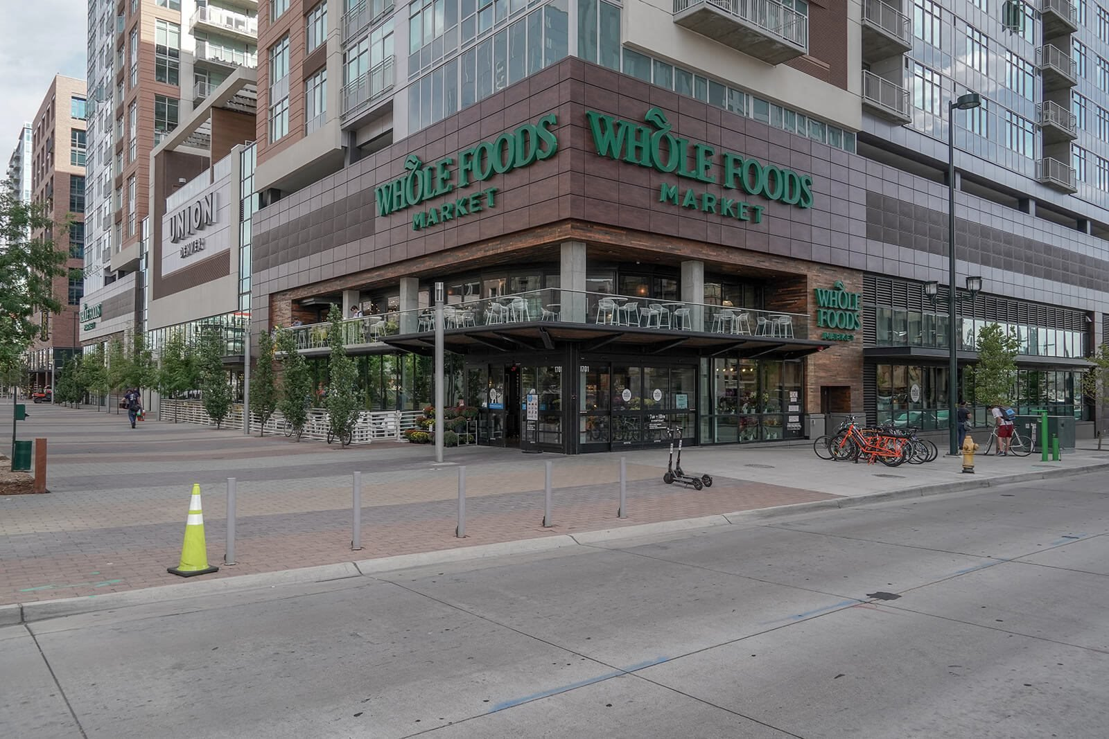 Whole Foods is nearby at The Casey, Denver, 80202