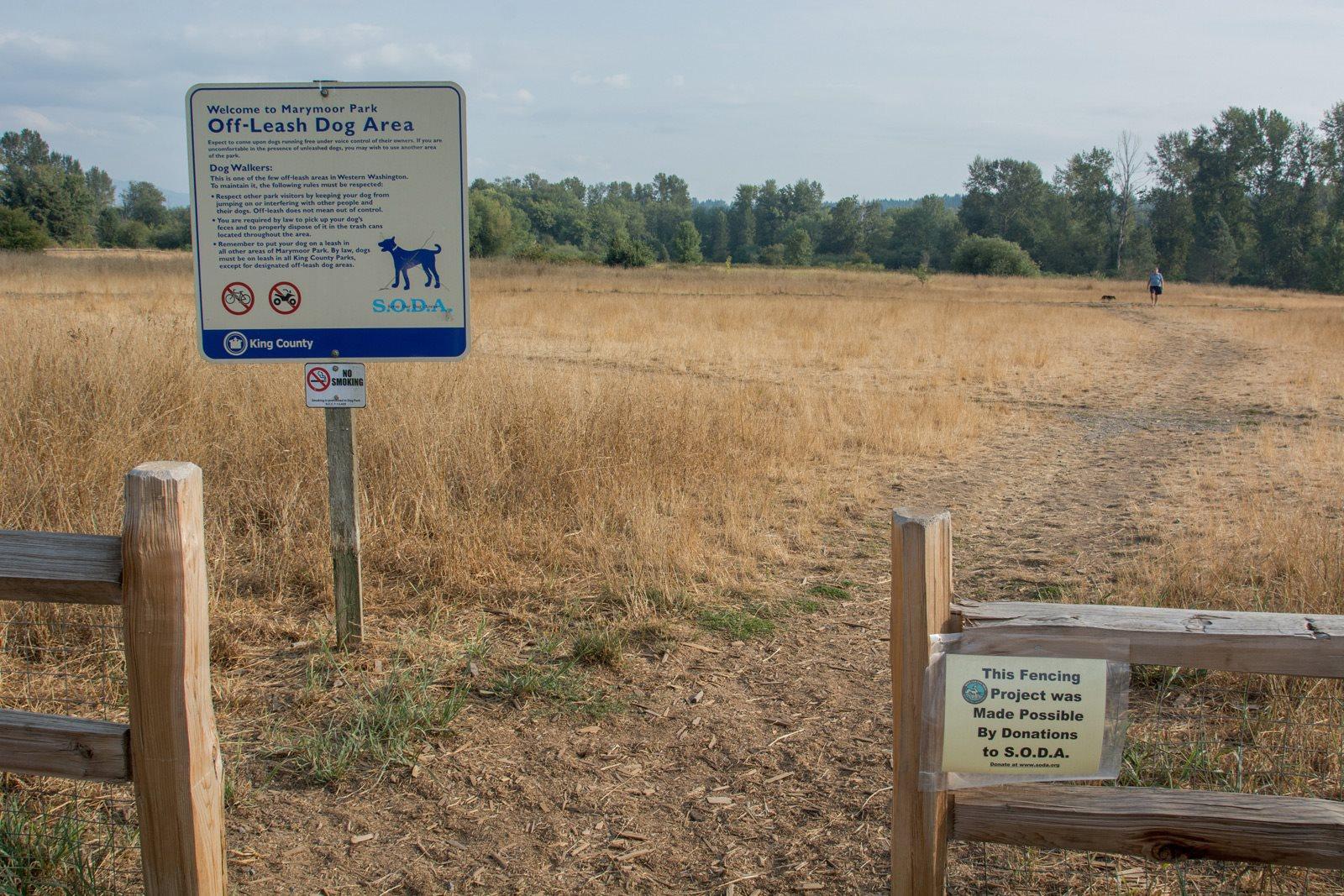 Off-Leash Dog Park at Reflections by Windsor, Washington, 98052