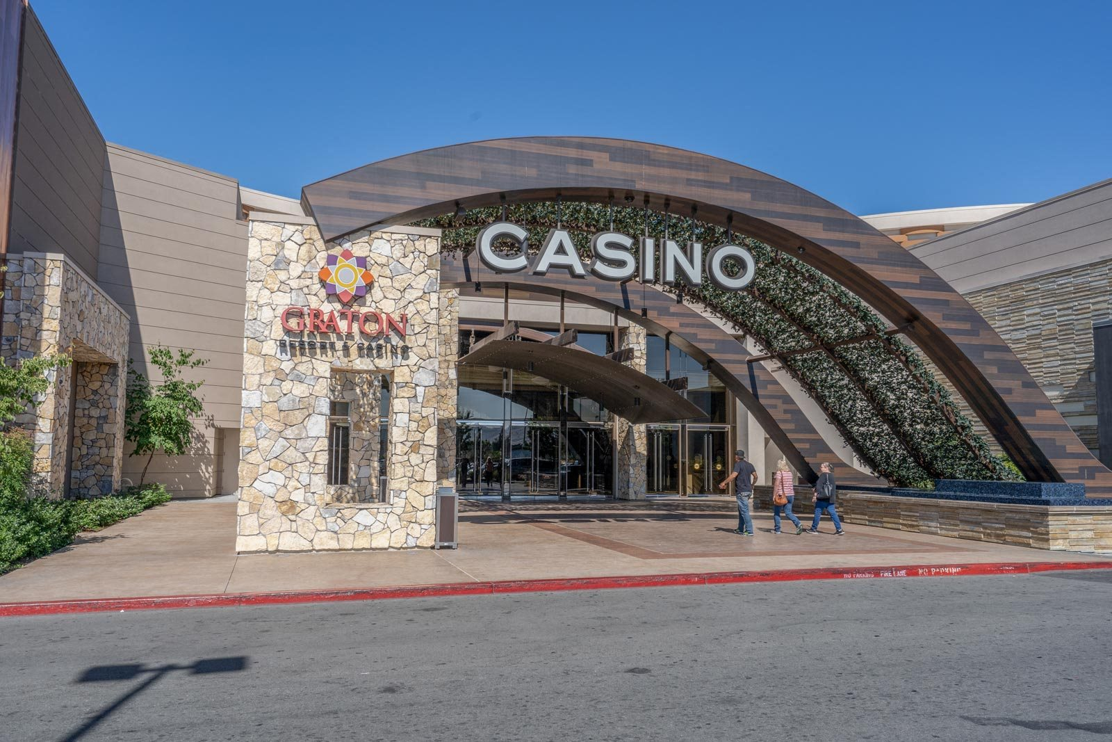 Shopping, Dining and Entertainment at Graton Resort and Casino near Windsor at Redwood Creek, California, 94928