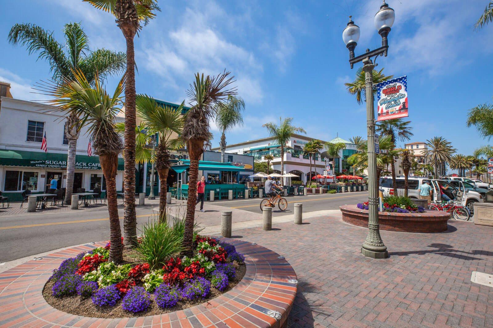 Huntington Beach hopping near Boardwalk by Windsor, California, 92647
