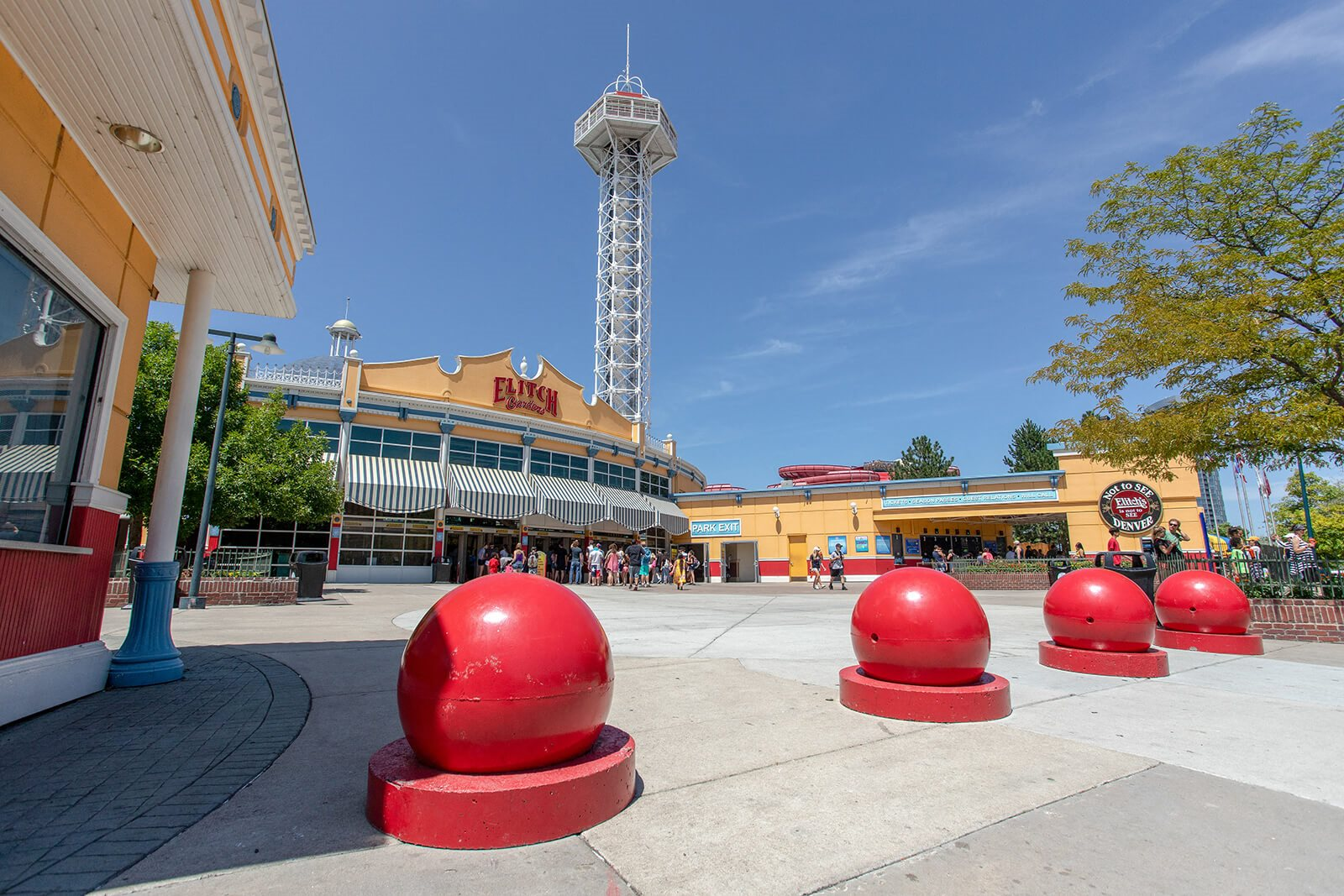 Elitch Gardens Theme and Water Park Is Minutes Away from Element 47 by Windsor, 2180 N. Bryant St., Denver