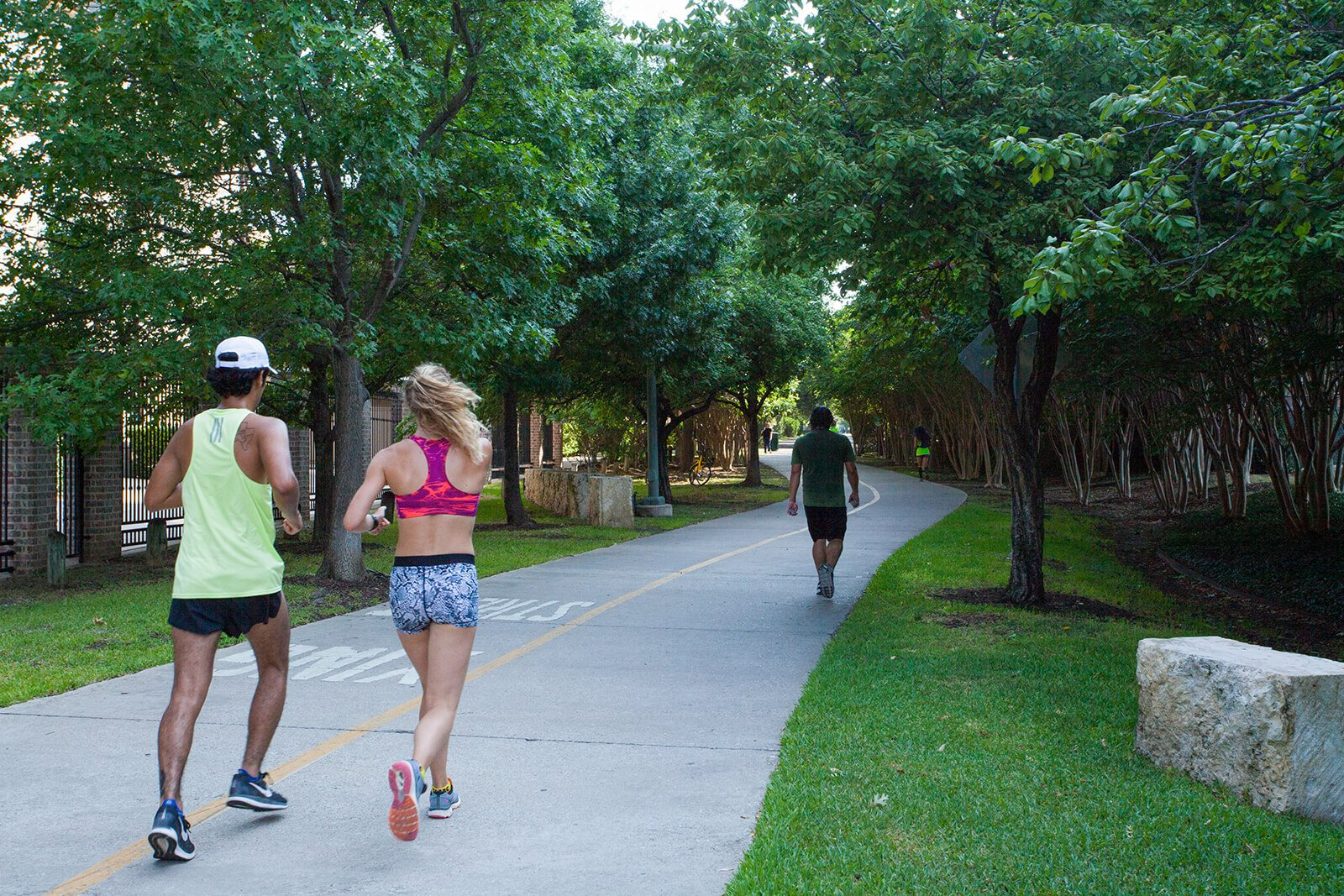 Amazing Outdoor Spaces For An Active Lifestyle around Glass House by Windsor, 2728 McKinnon Street, Dallas