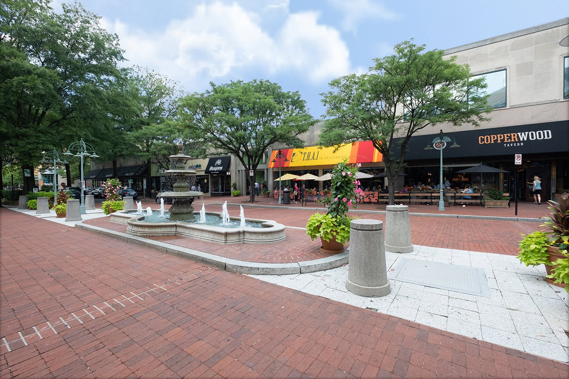 Shopping and dining are nearby at IO Piazza by Windsor, Virginia, 22206