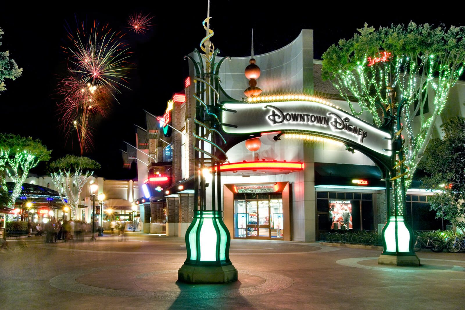 Enjoy the fireworks at Downtown Disney near Windsor at Main Place, 92868, CA