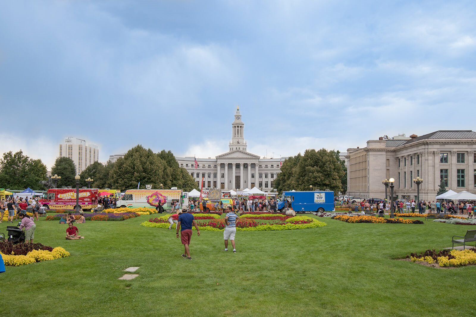 Year-Round Community Events at Nearby Parks around 1000 Speer by Windsor, Denver, CO