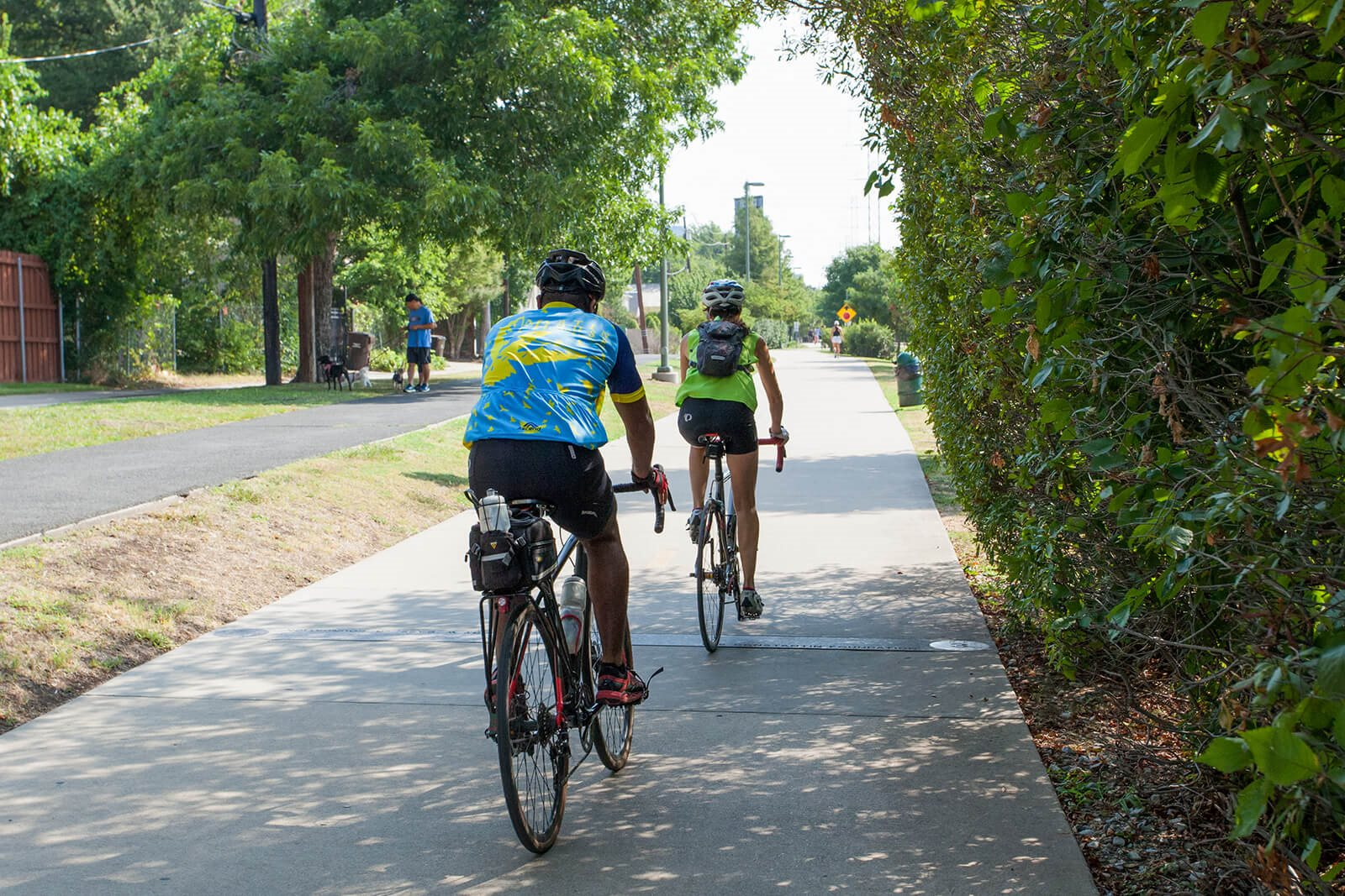 Easy Access To Bike Trails from Glass House at Windsor, Dallas, TX