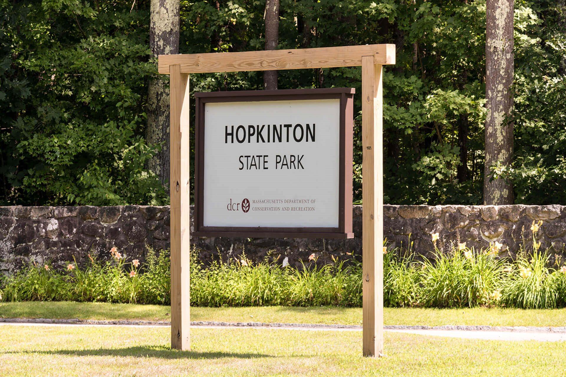 Hopkinton State Park near Hopkinton by Windsor, Massachusetts, 01748